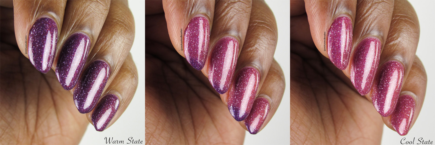 Anything For Selenas - Angle 3 Collage bottle - Vapid Lacquer - May Polish Pickup
