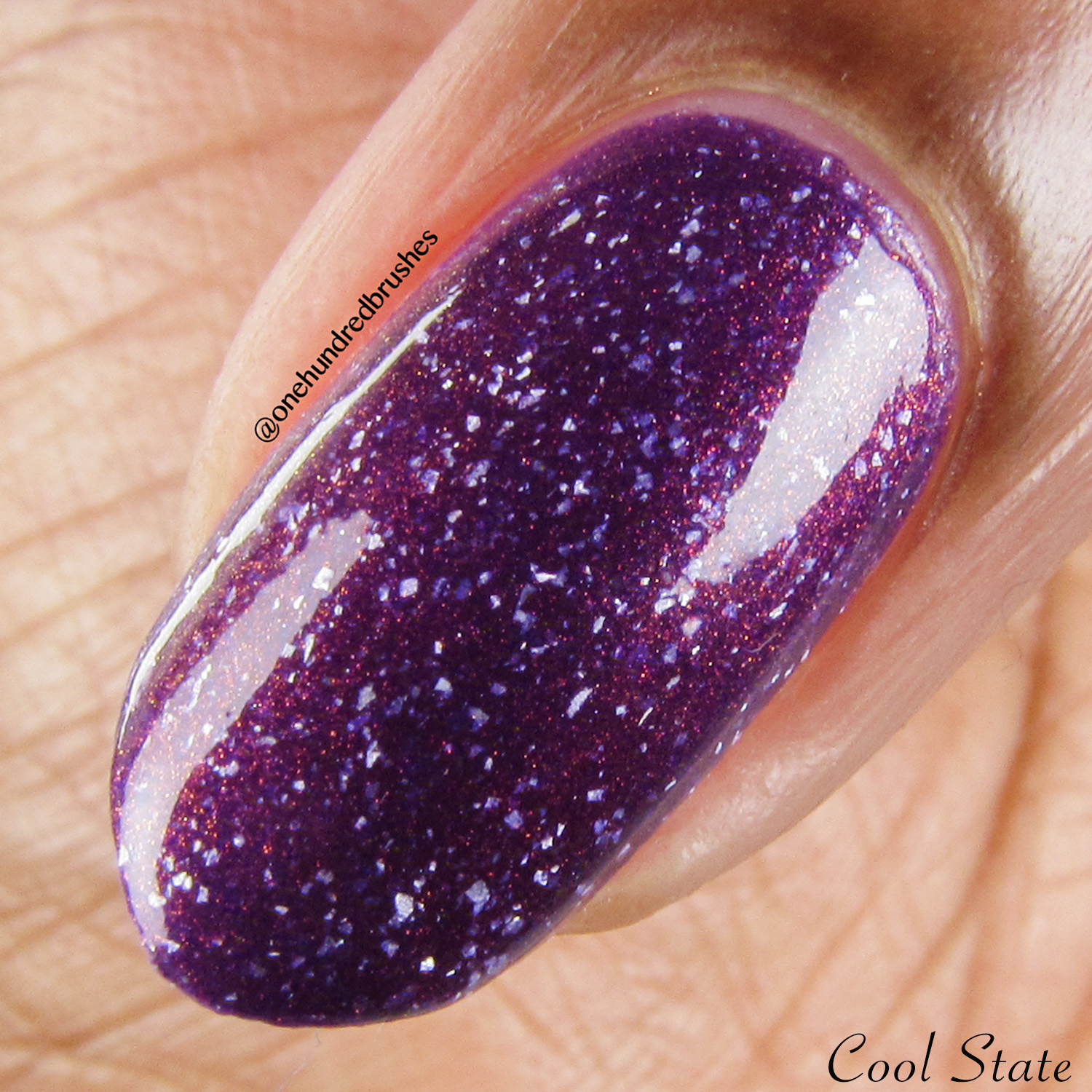 Anything For Selenas - Cool, macro - Vapid Lacquer - May Polish Pickup - thermal - multichrome - holographic