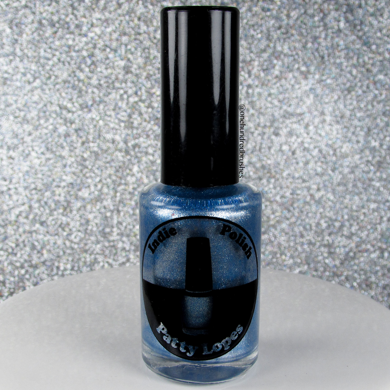 Blue Mirror - bottle - Indie Patty Lopes - psyches beau - mirror collection
