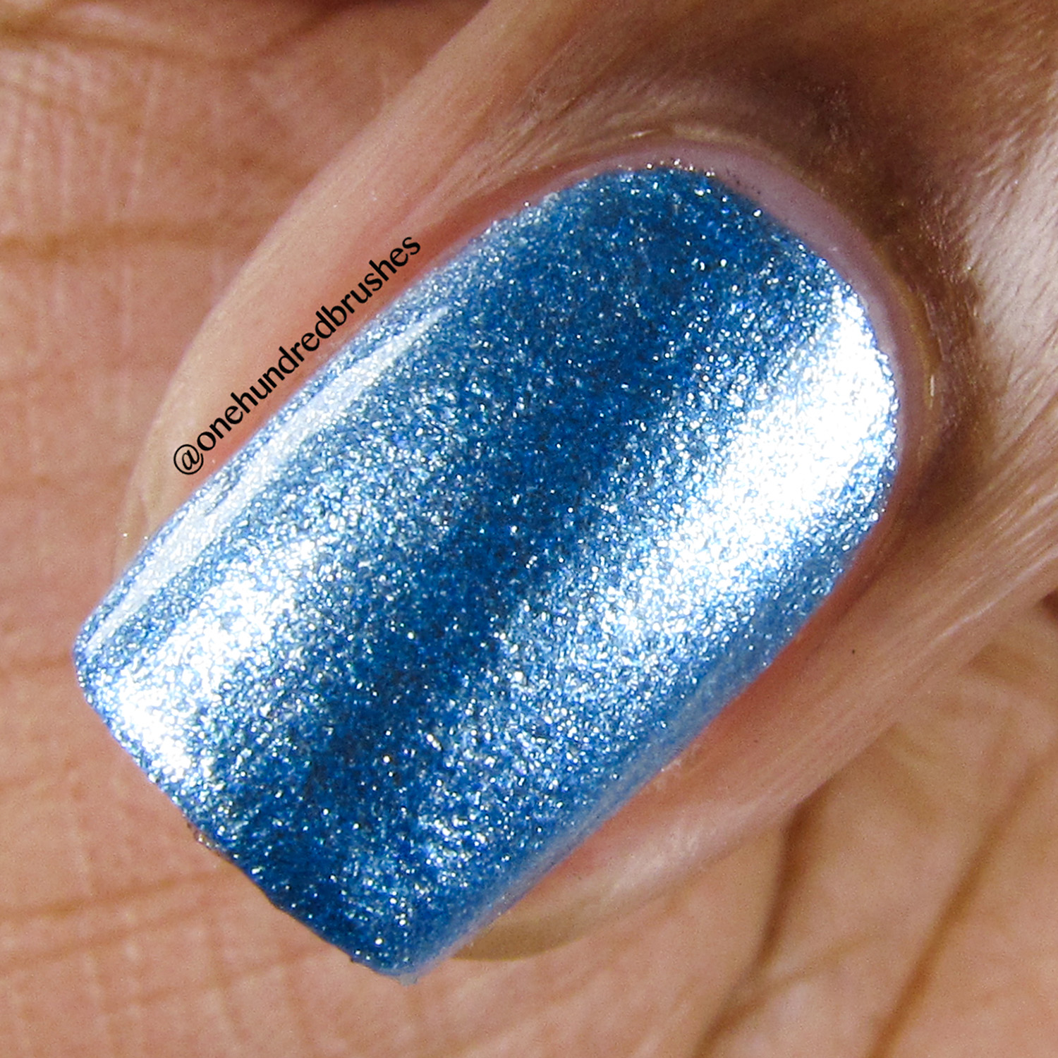 Blue Mirror - macro - Indie Patty Lopes - psyches beau - mirror collection