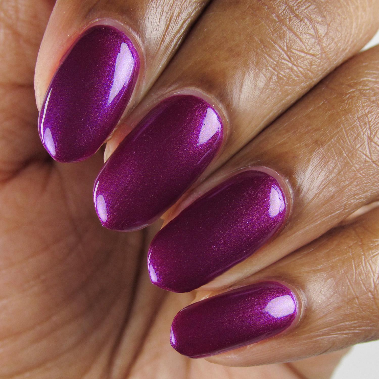 Conquest - closeup - Vapid Lacquer - April 2018 - Spring release - purple - magenta shimmer