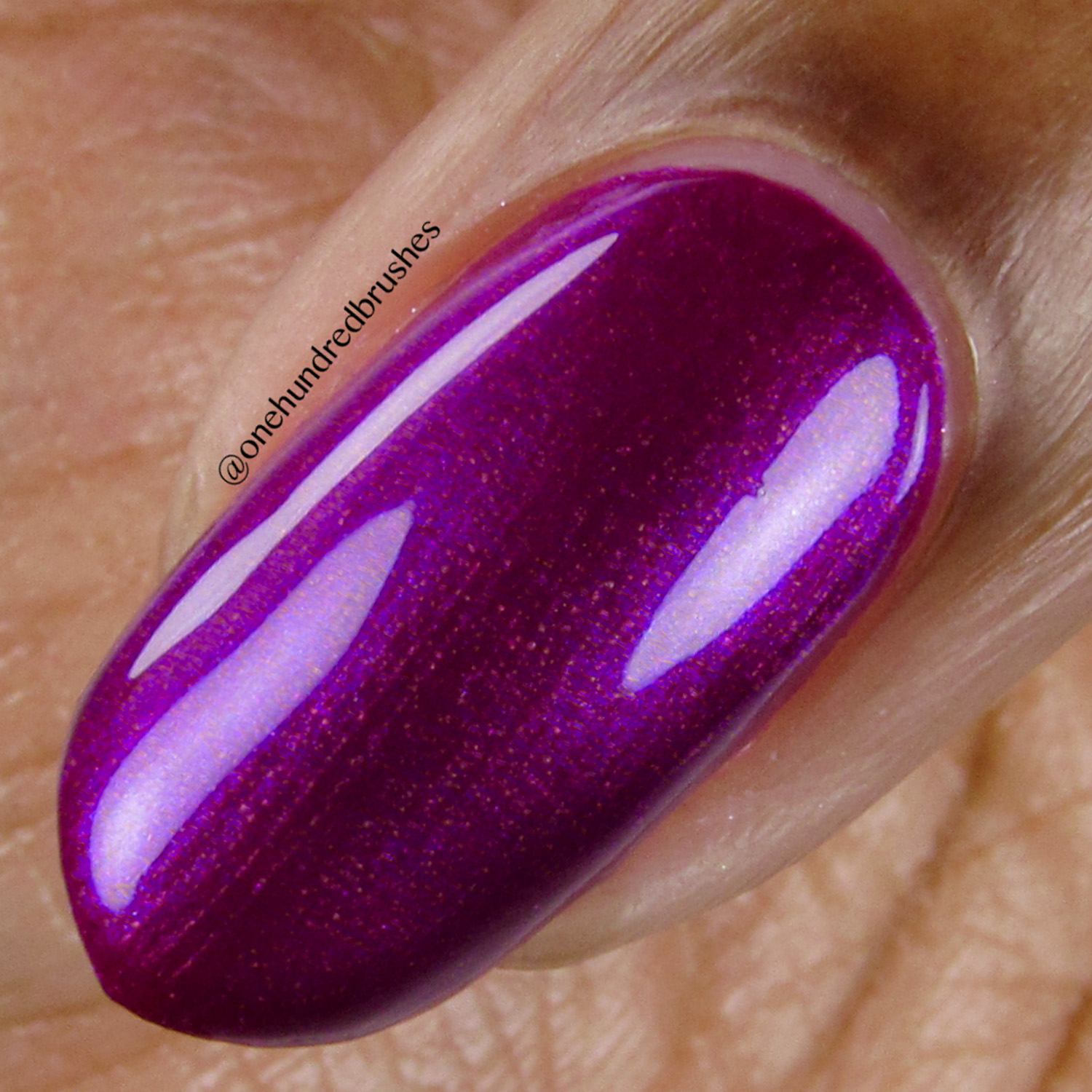 Conquest - macro - Vapid Lacquer - April 2018 - Spring release - purple - magenta shimmer