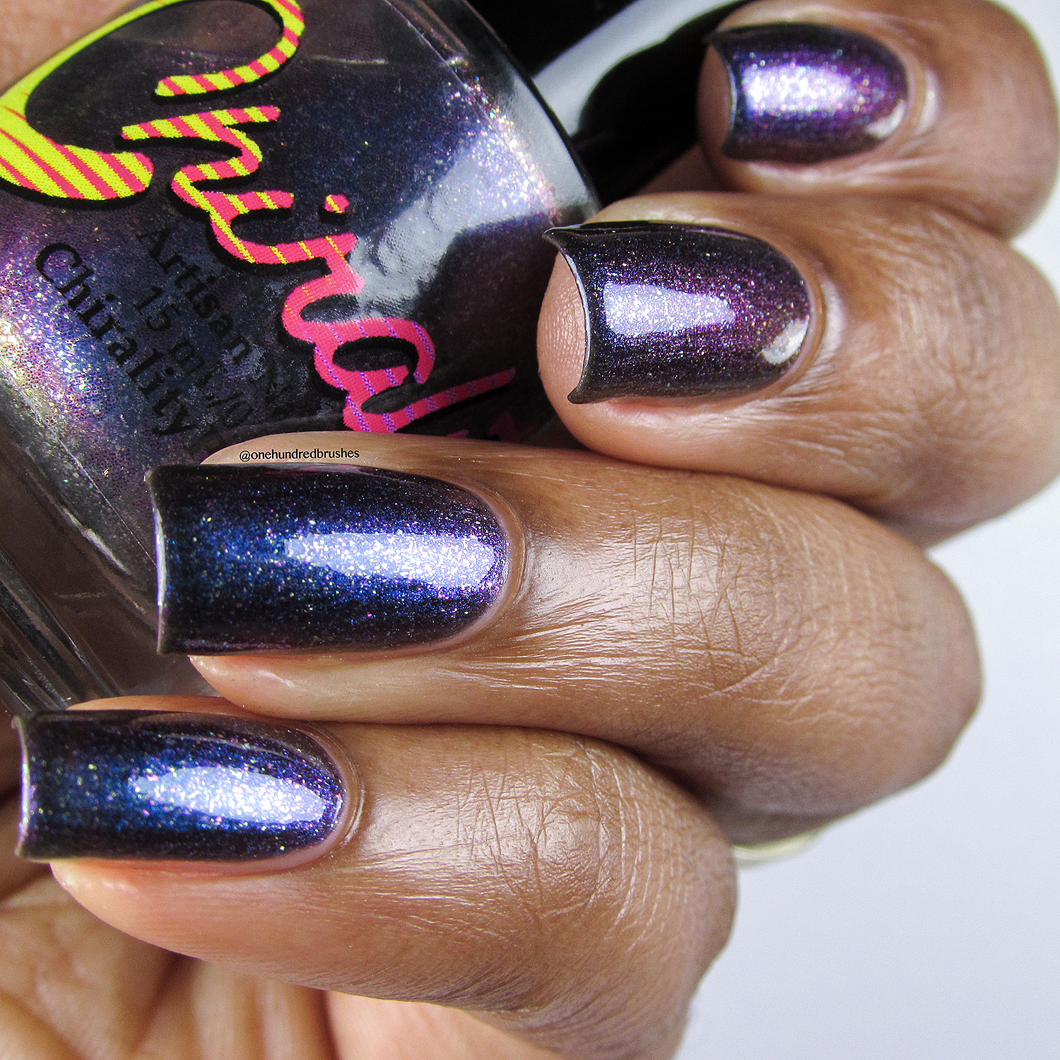 Galactic Core - bottle - Chirality - April Polish Pickup - One Hundred Brushes -