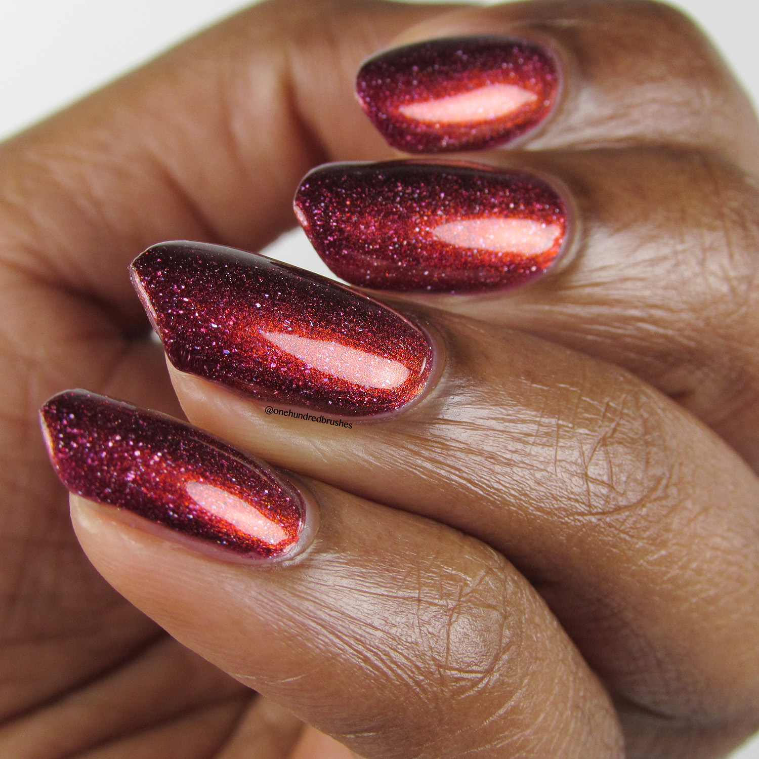 Crimson Glow - angle 1 - Contrary Polish - PPU May 2018 - My So Called Life