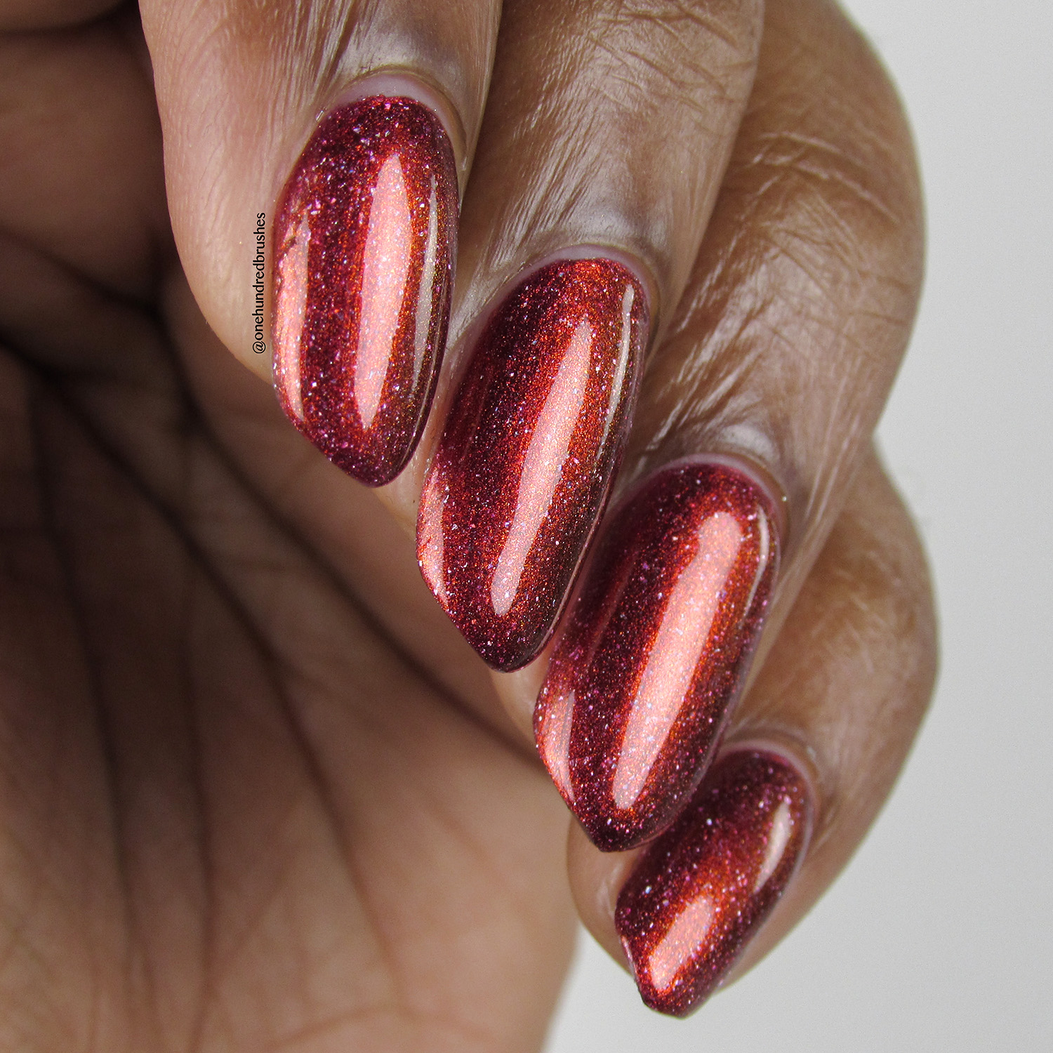 Crimson Glow - angle 3 - Contrary Polish - PPU May 2018 - My So Called Life