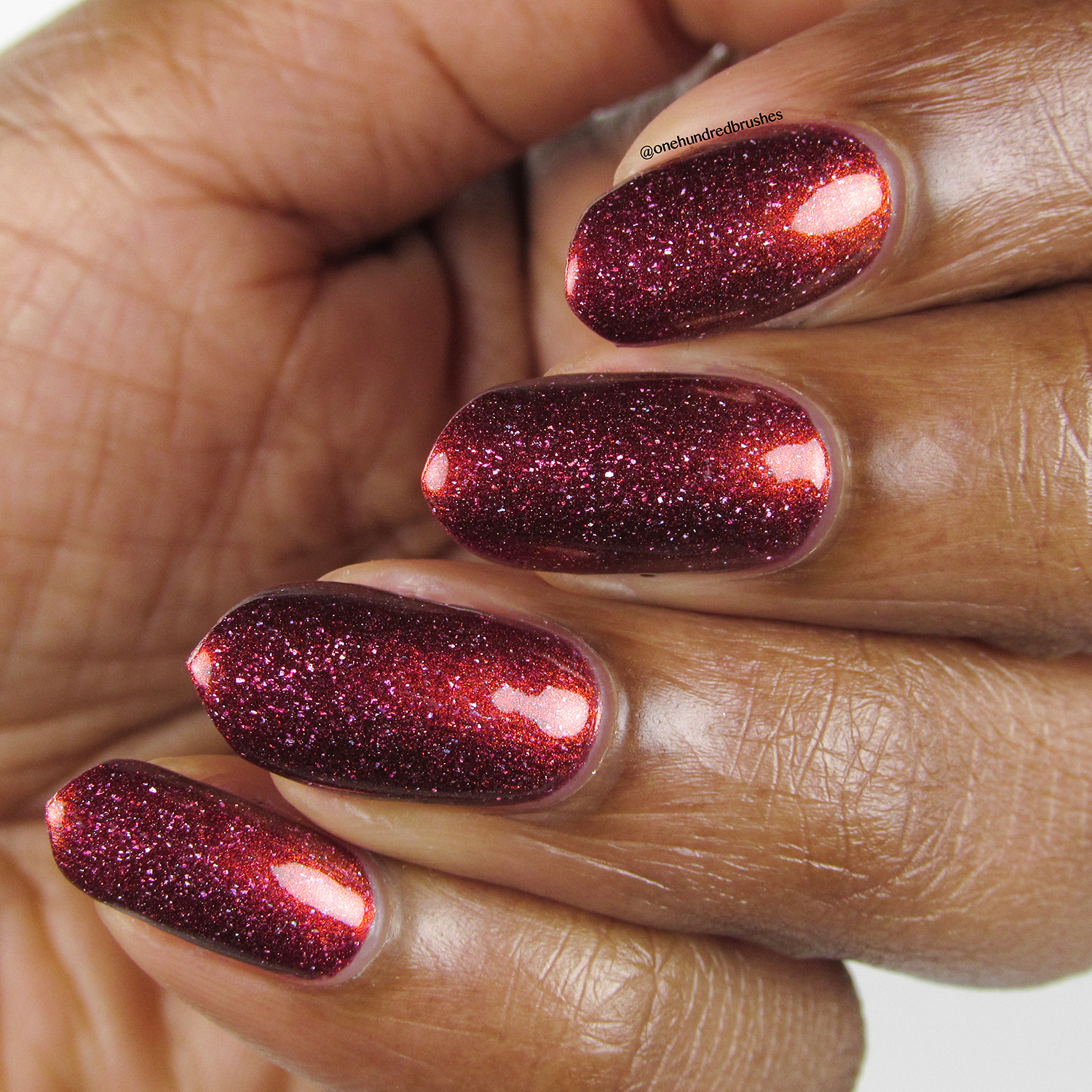 Crimson Glow - angle 2 - Contrary Polish - PPU May 2018 - My So Called Life