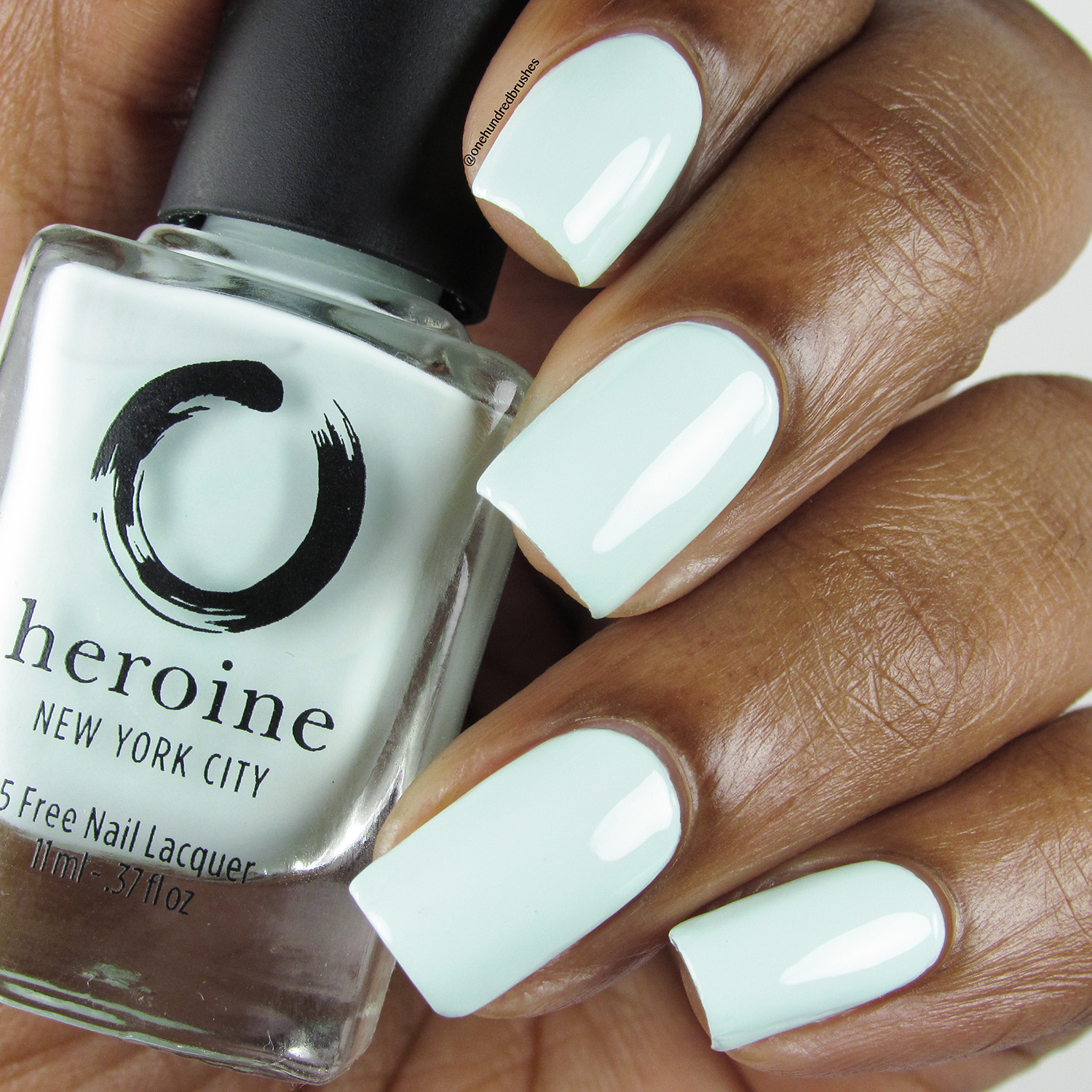 Empower-Mint - Bottle Front - Heroine NYC - Dream Cremes - pastel - mint