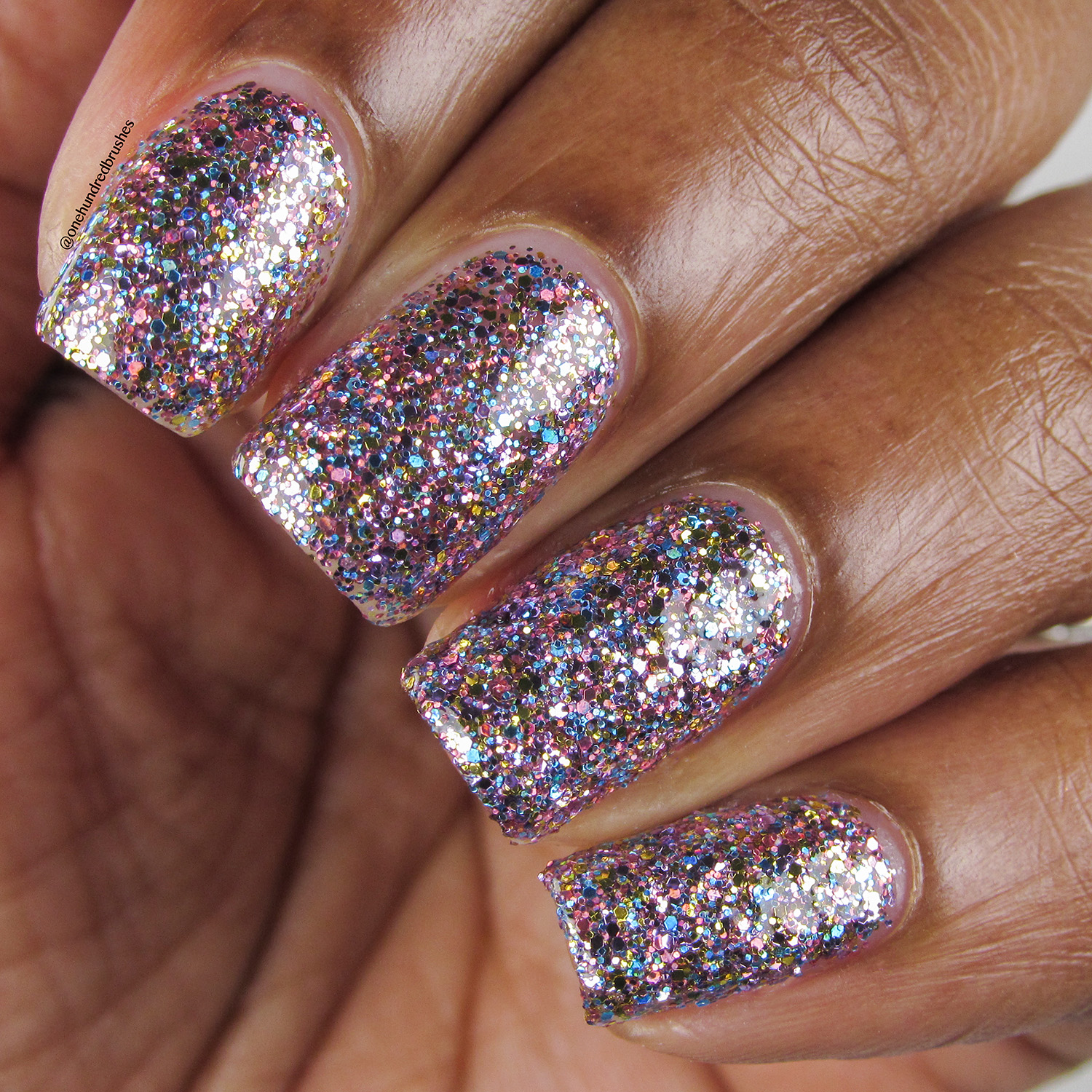 Glitter Godmother - Closuep - Painted Polish - The Indie Shop Anaheim 2018