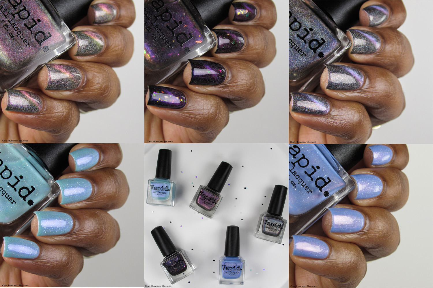 May Releases 2018 Collage Bottle Side - Vapid Lacquer