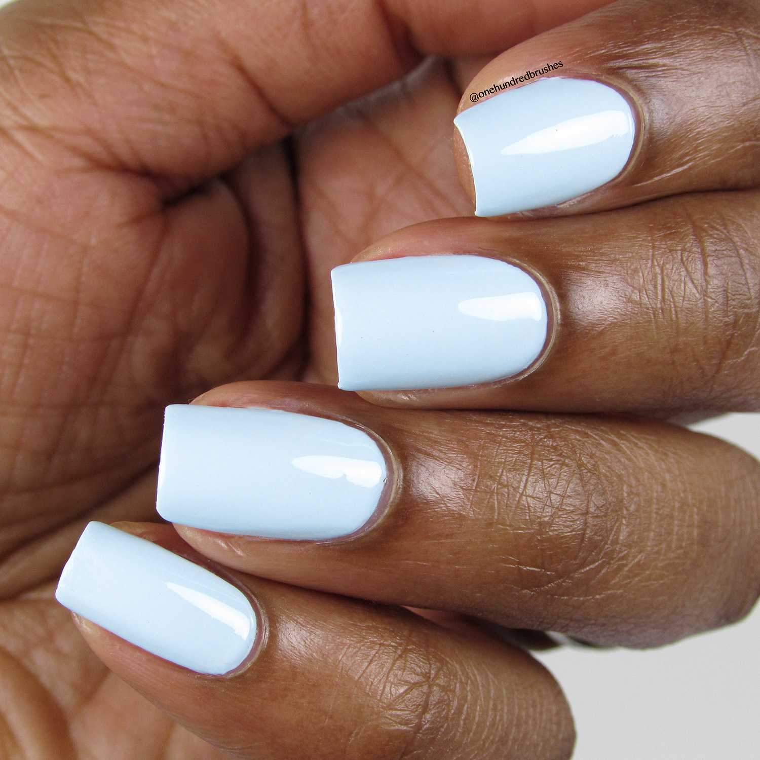 Peek-A-Blue - Angle - Heroine NYC - Dream Cremes - pastel - baby blue