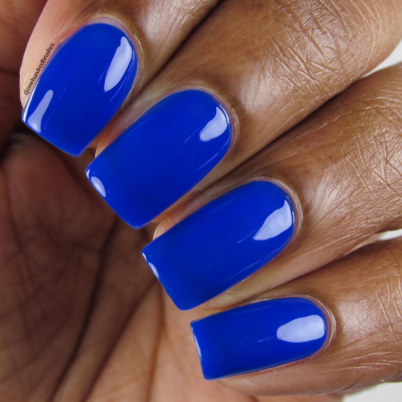 Royal Blood - Closeup - Heroine NYC - The Neons - cobalt