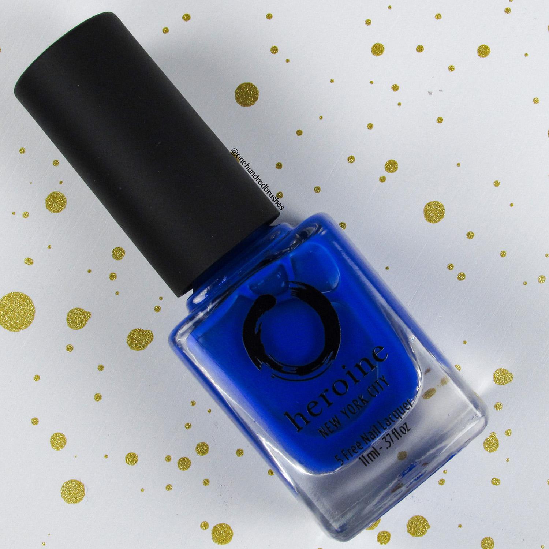 Royal Blood - Heroine NYC - The Neons - cobalt blue