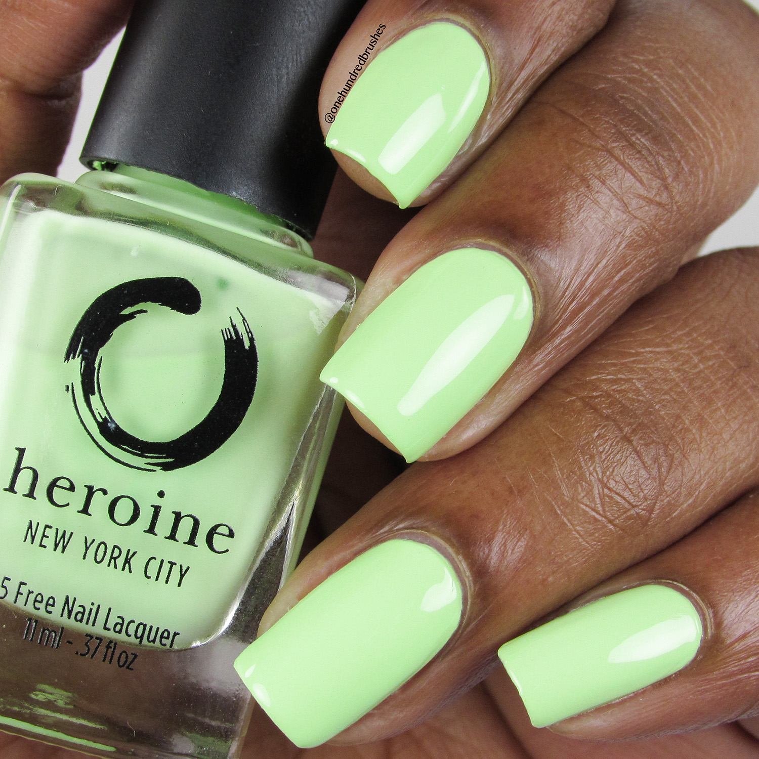 Sublime - Heroine NYC - Bottle Front - The Neons - lime green
