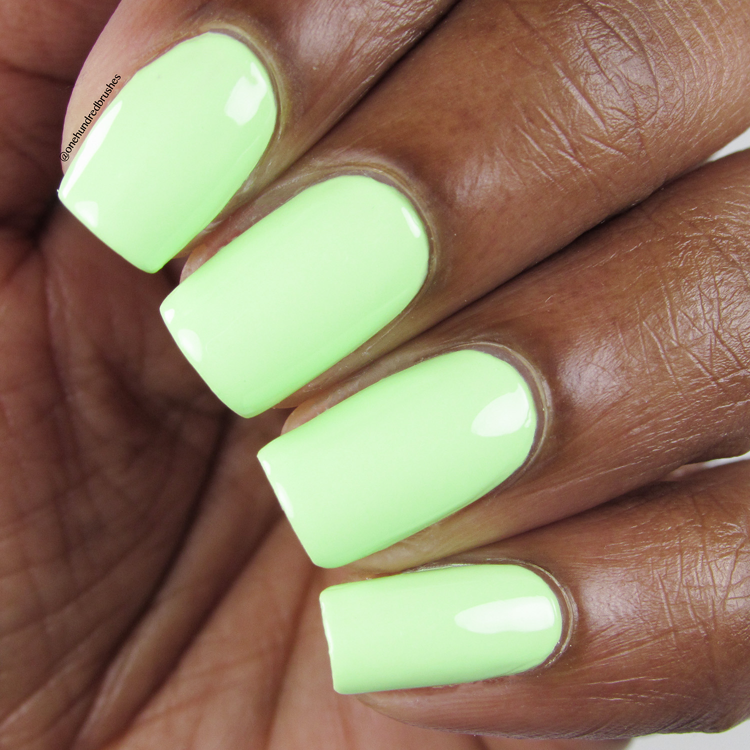 Sublime - Heroine NYC - Closeup - The Neons - lime green