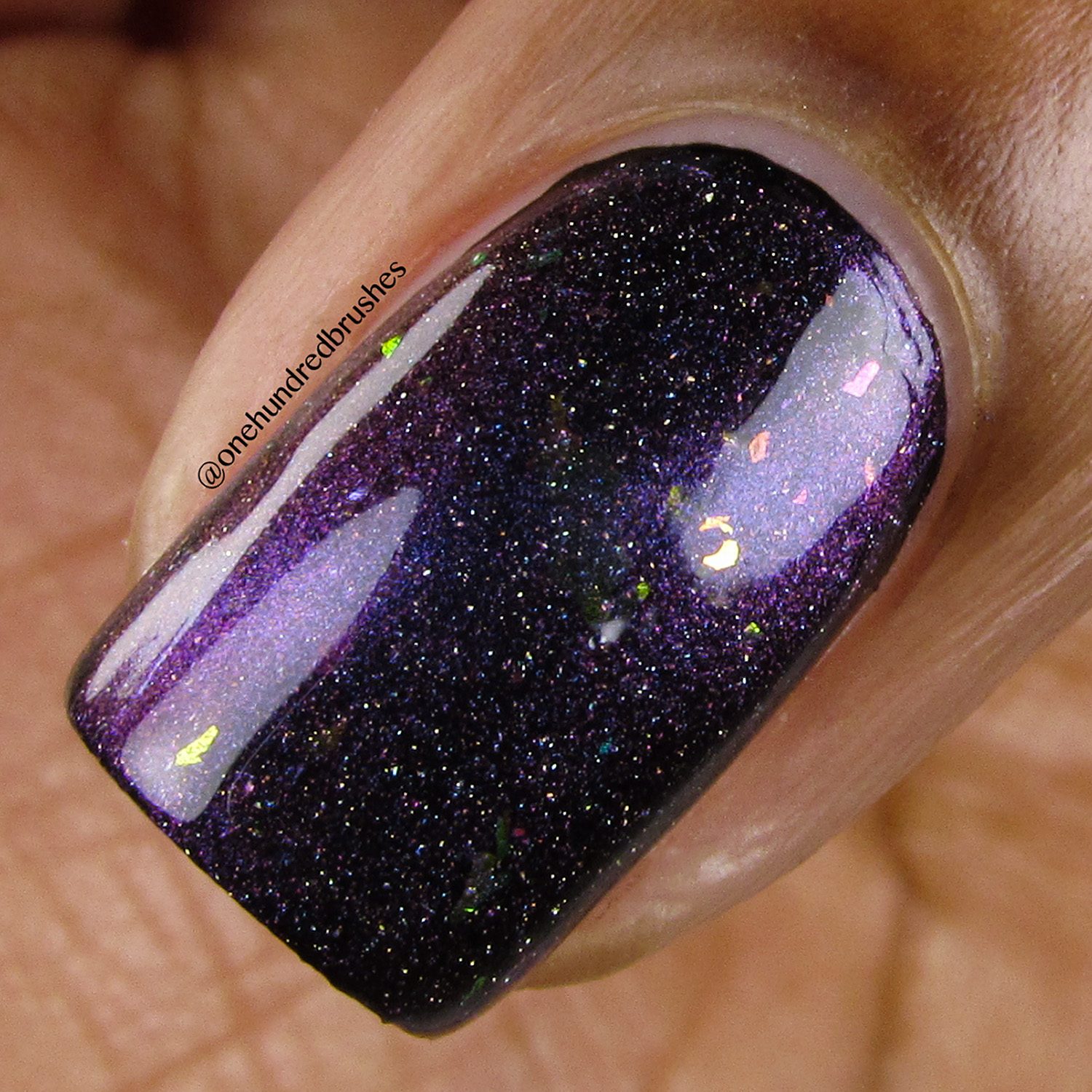 Taking up Space (over black) - Macro - Vapid Lacquer - May Releases 2018
