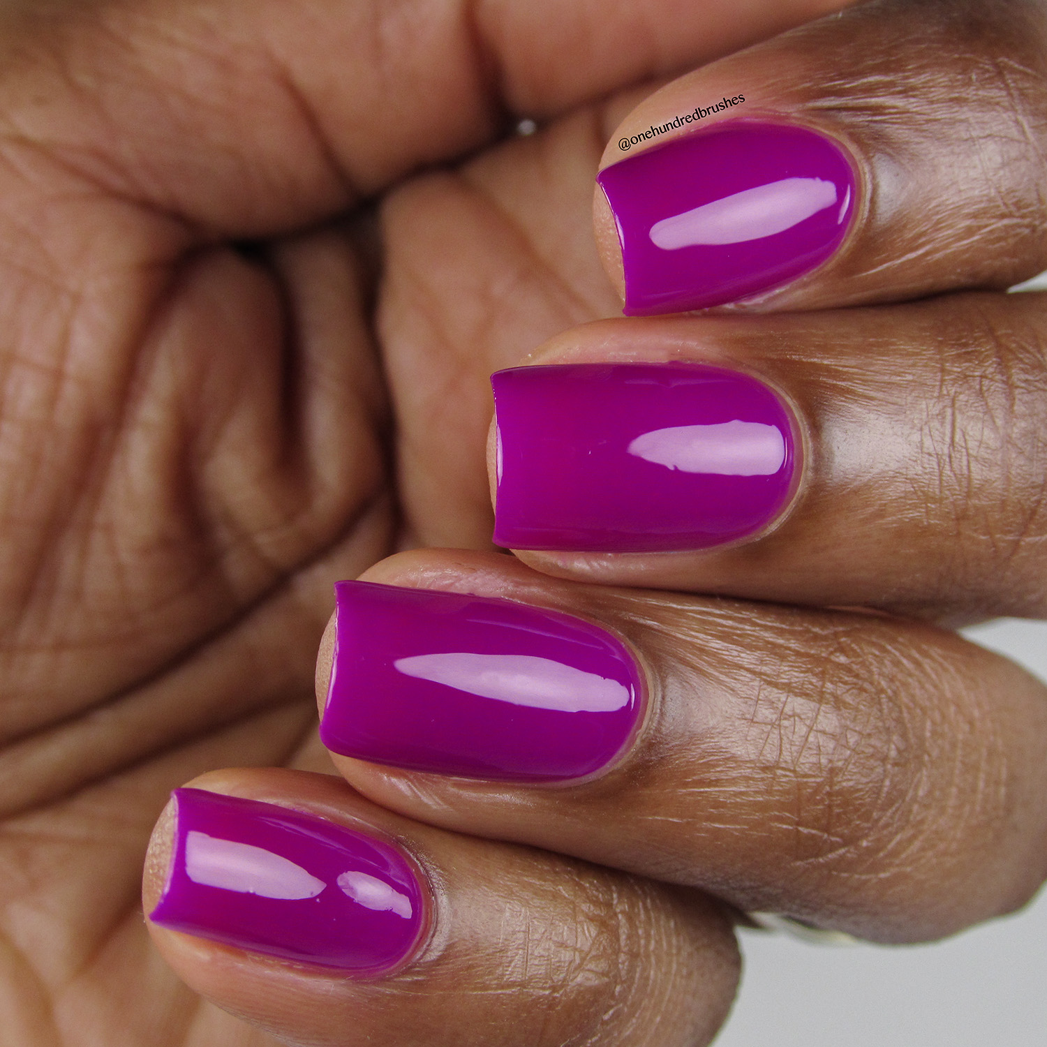 Touch-Me-Not - Angle - Heroine NYC - The Neons - purple