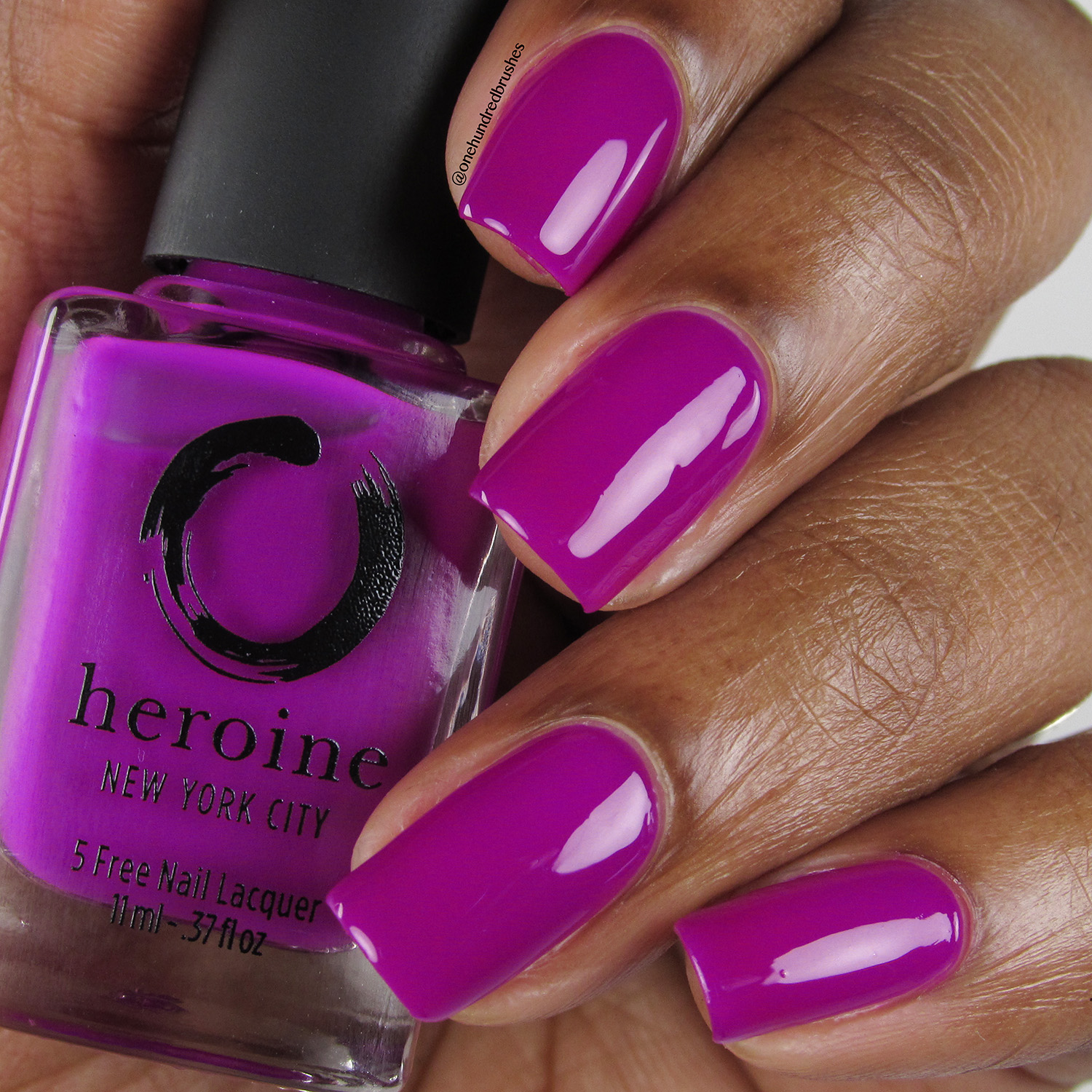 Touch-Me-Not - Bottle Front - Heroine NYC - The Neons - purple