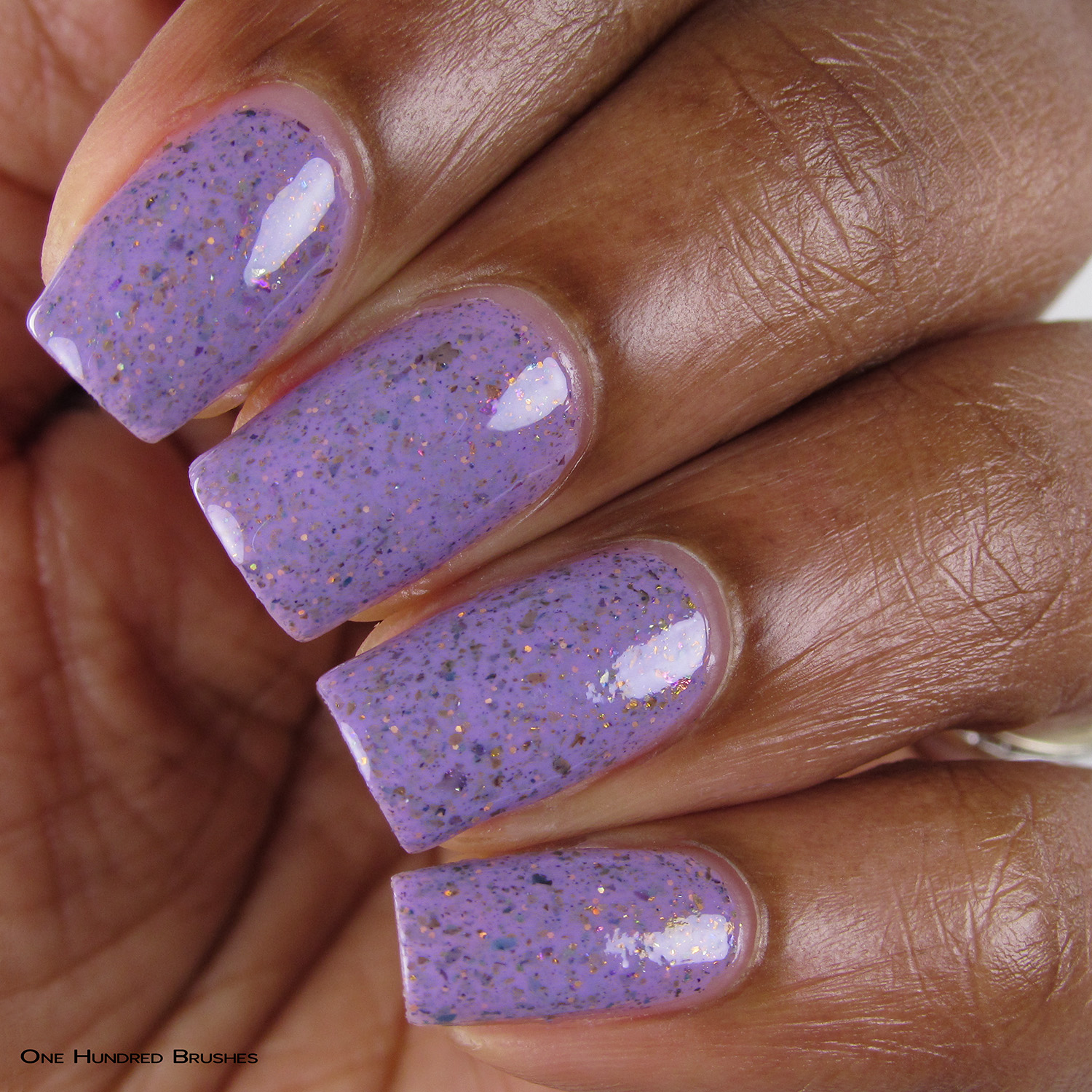 Dirty Thirty - Closeup - Keep Calm & Thirty On - Painted Polish