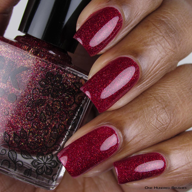 Doce Vampiro - Bottle Front - Coleção Rita Lee - DRK Nails
