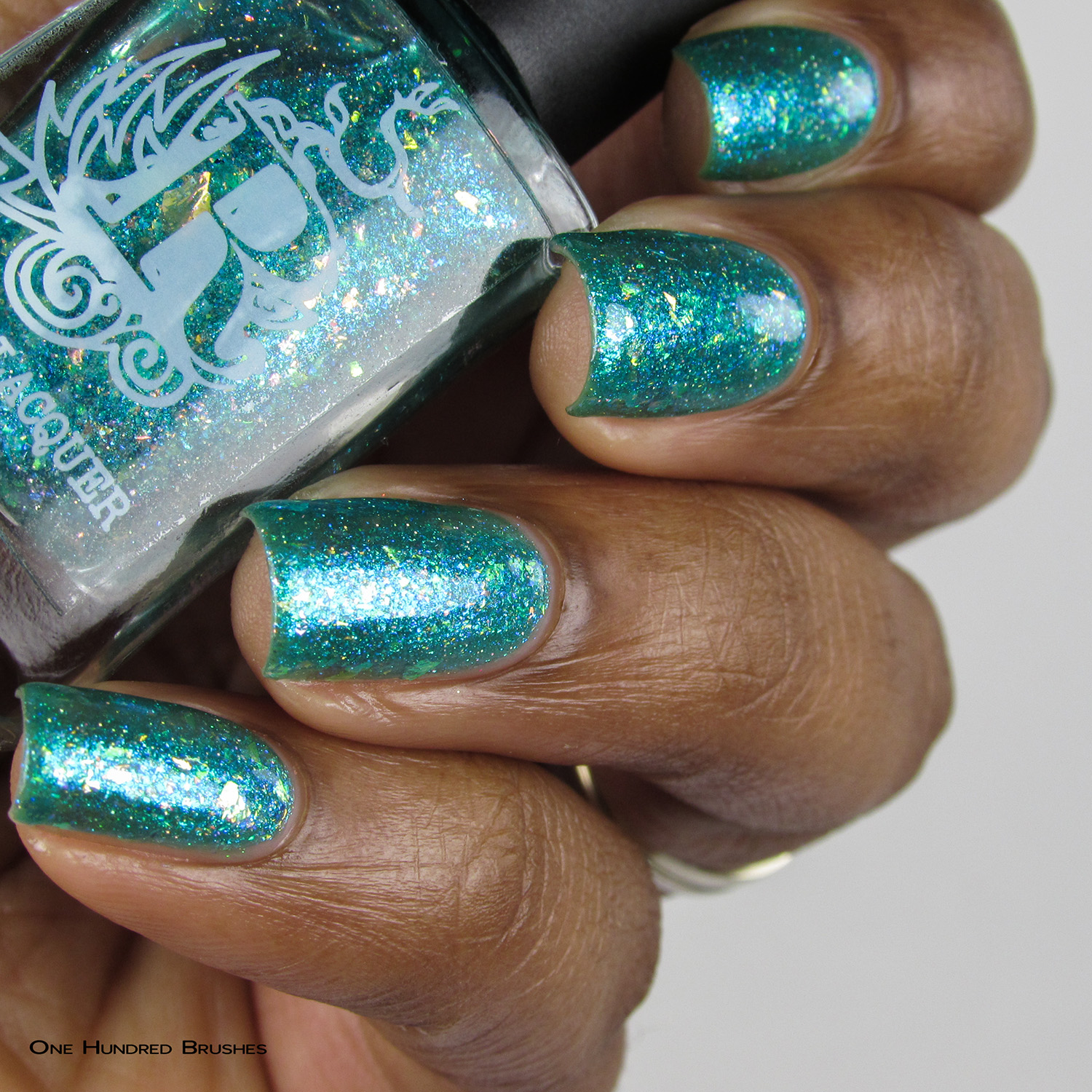 I Washed Up Like This - Bottle Side - Rogue Lacquer - Sirens of Summer June 2017