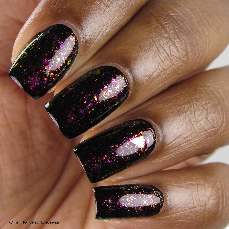 Não Provoque - Closeup (over black) - Coleção Rita Lee - DRK Nails