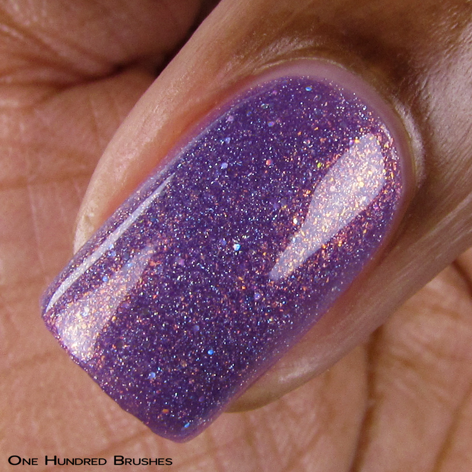 Talk Thirty To Me - Angle - Keep Calm & Thirty On - Painted Polish