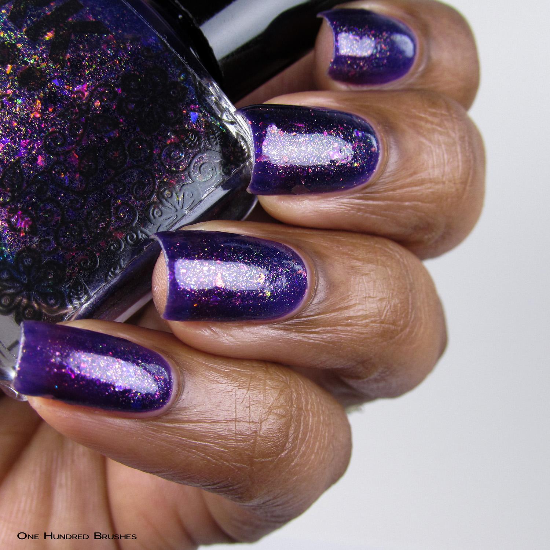Um Caso Sério - Bottle Sdie - Coleção Rita Lee - DRK Nails