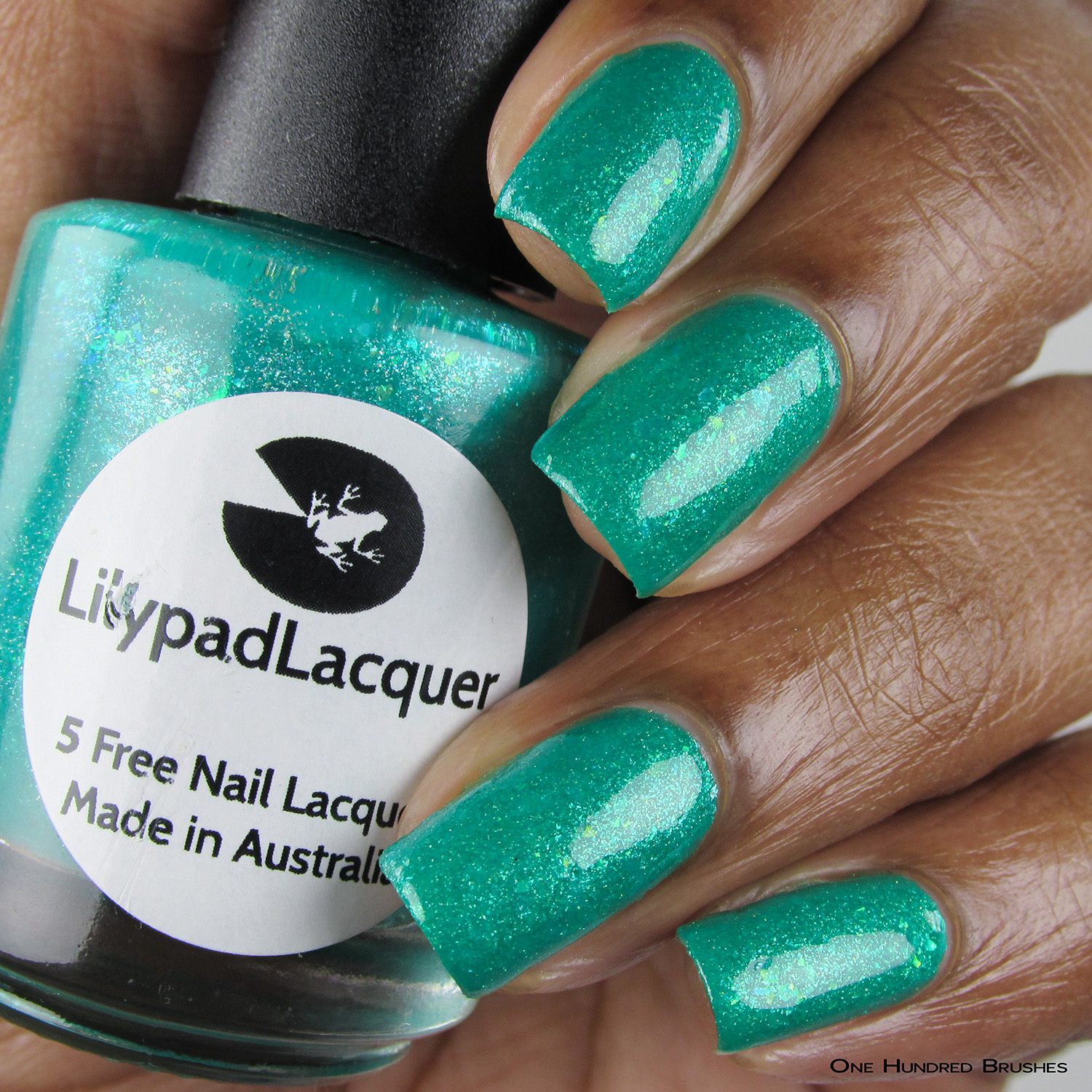 Cancer - Bottle Front - Lilypad Lacquer - July HHC