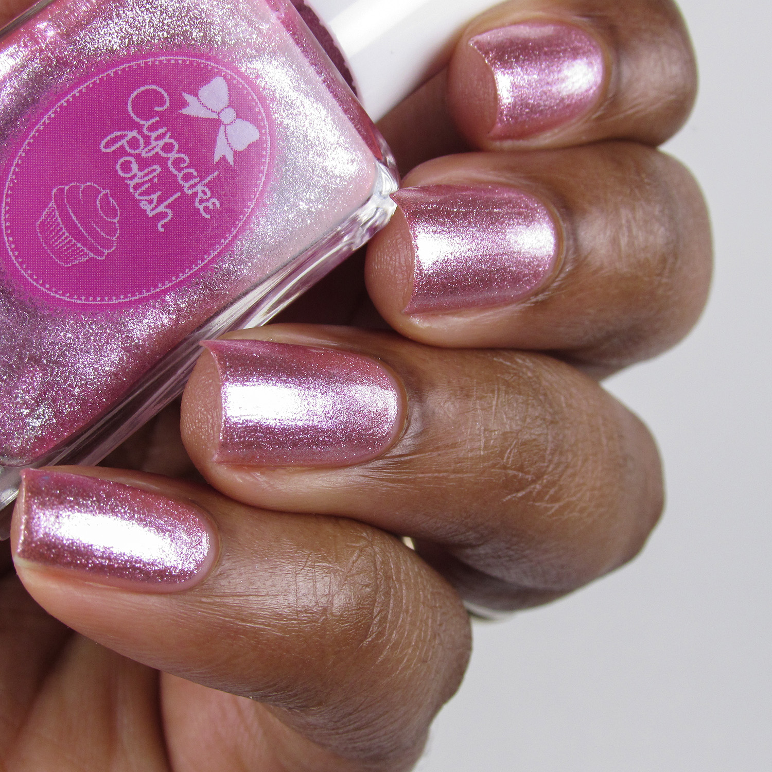 Celebrate - Bottle side - 5th Year Anniversary Trio - Cupcake Polish