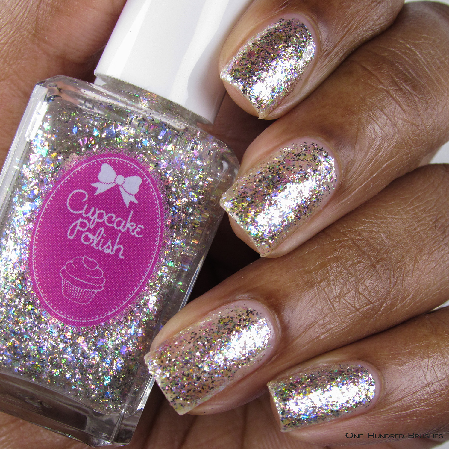 Diamond - Bottle Front - 5th Year Anniversary Trio - Cupcake Polish