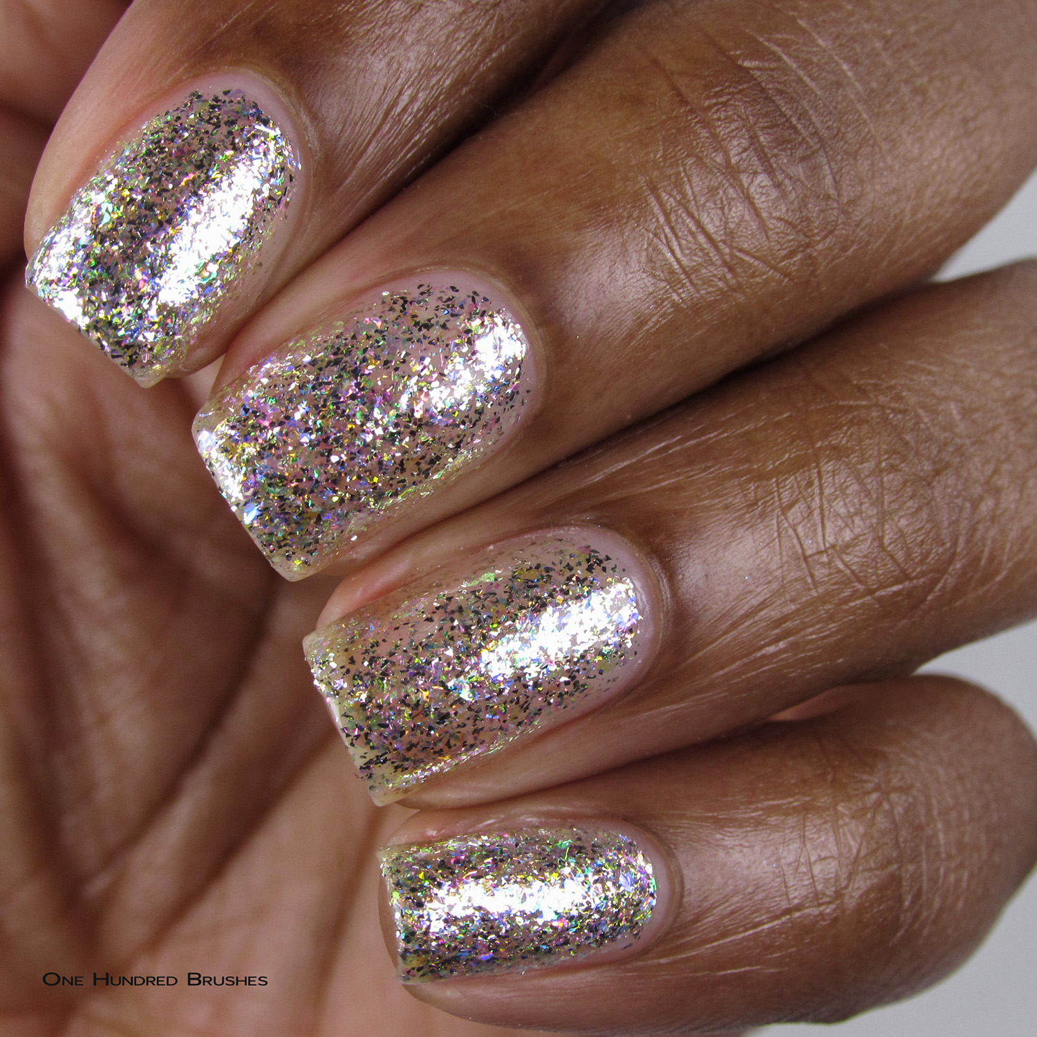 Diamond - Closeup - 5th Year Anniversary Trio - Cupcake Polish
