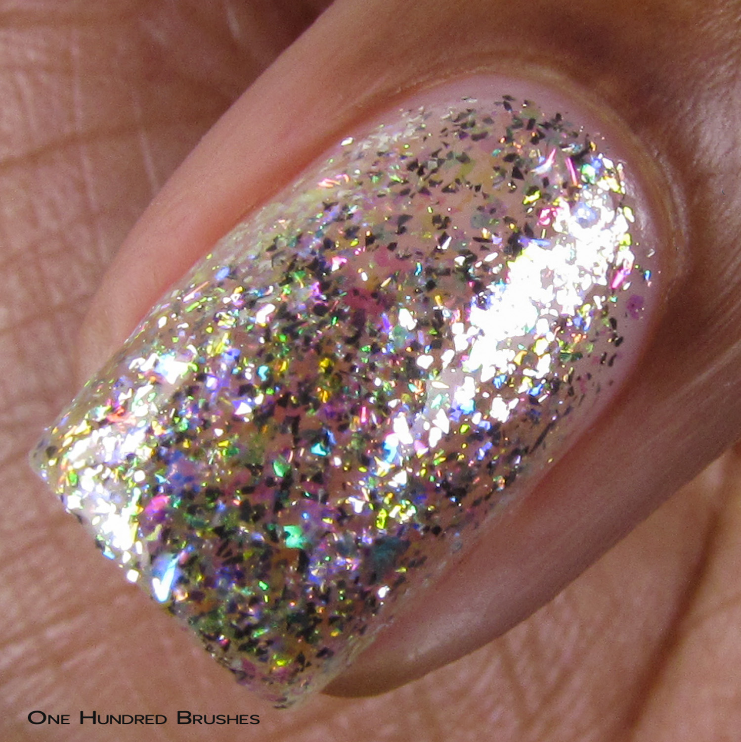 Diamond - Macro - 5th Year Anniversary Trio - Cupcake Polish
