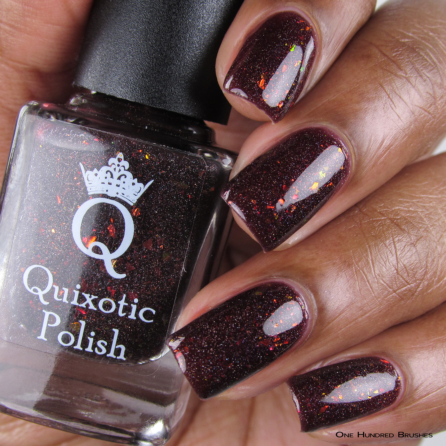 Doughnuts. Go Nuts - Bottle Front - Quixotic Polish - July HHC