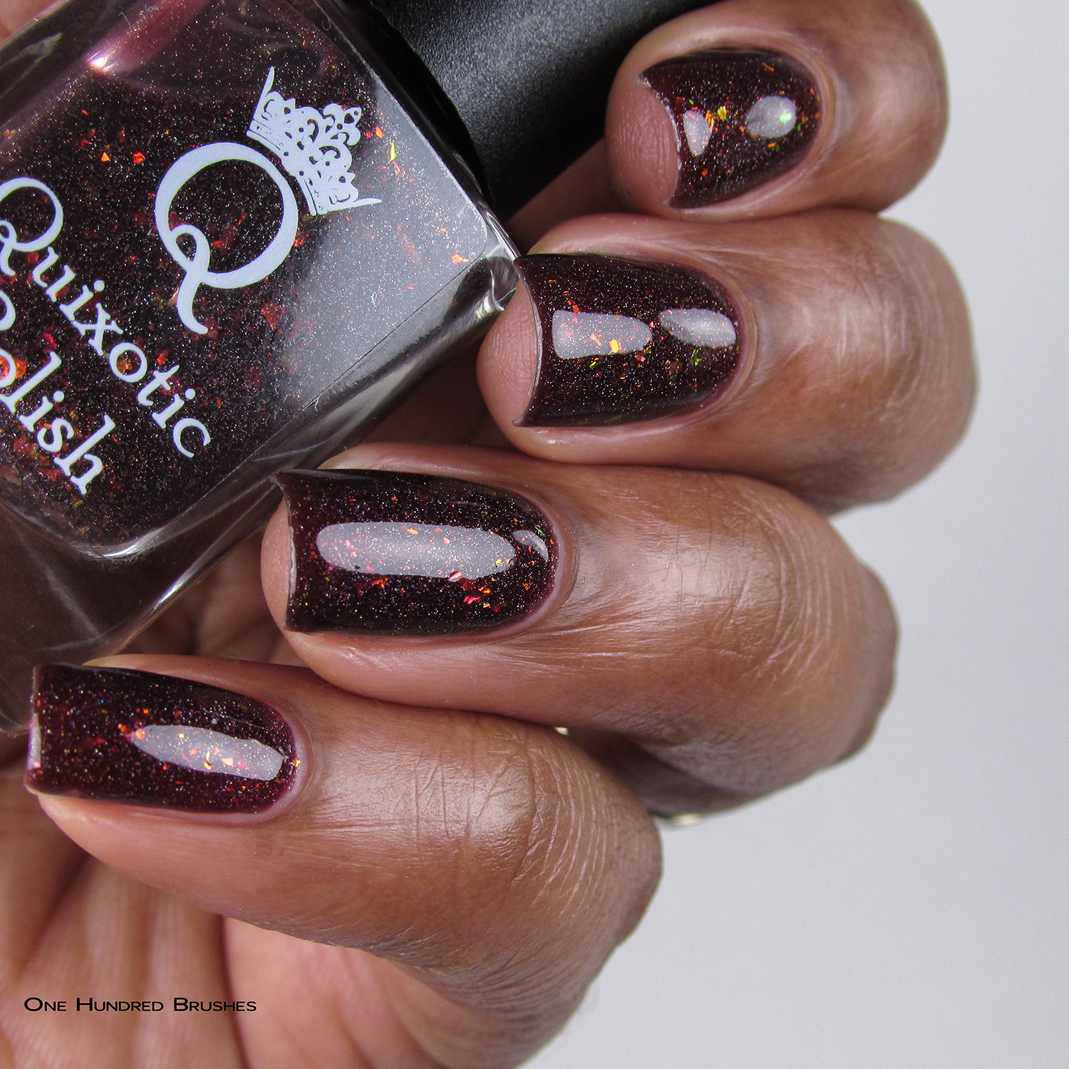 Doughnuts. Go Nuts - Bottle Side - Quixotic Polish - July HHC