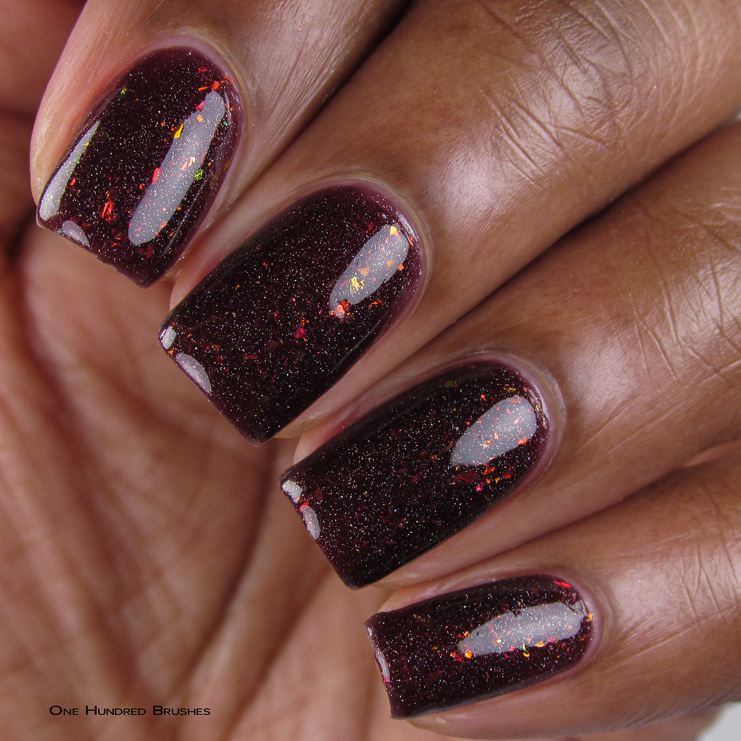 Doughnuts. Go Nuts - Closeup - Quixotic Polish - July HHC