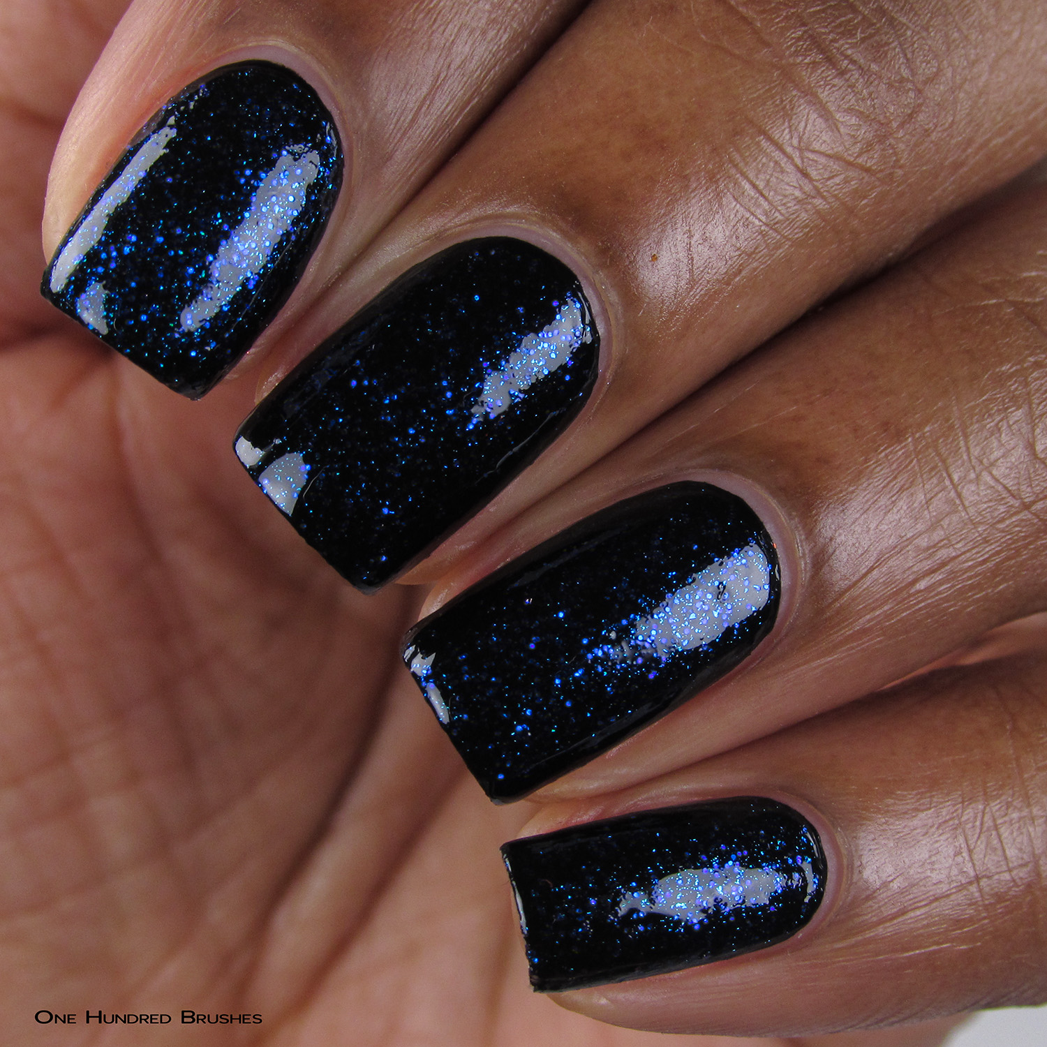 Eat Me, Drink Me - Closeup over Black - Ethereal Lacquer - July HHC