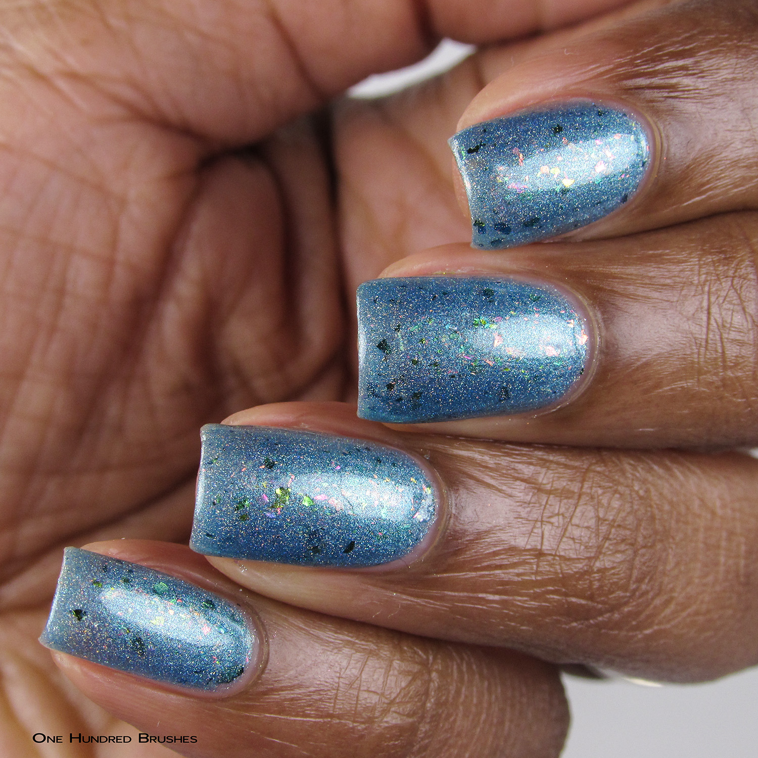 Everything's Shiny Cap'n! - Angle - Supernatural Lacquer - July HHC