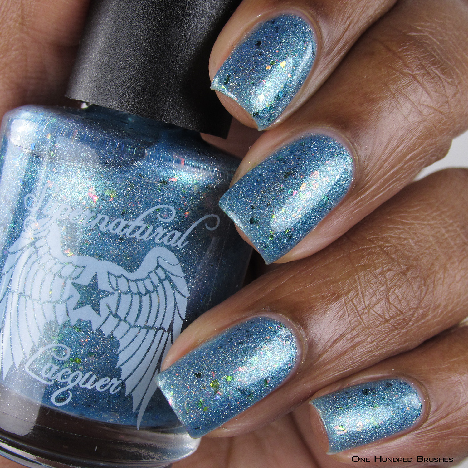 Everything's Shiny Cap'n! - Bottle Front - Supernatural Lacquer - July HHC