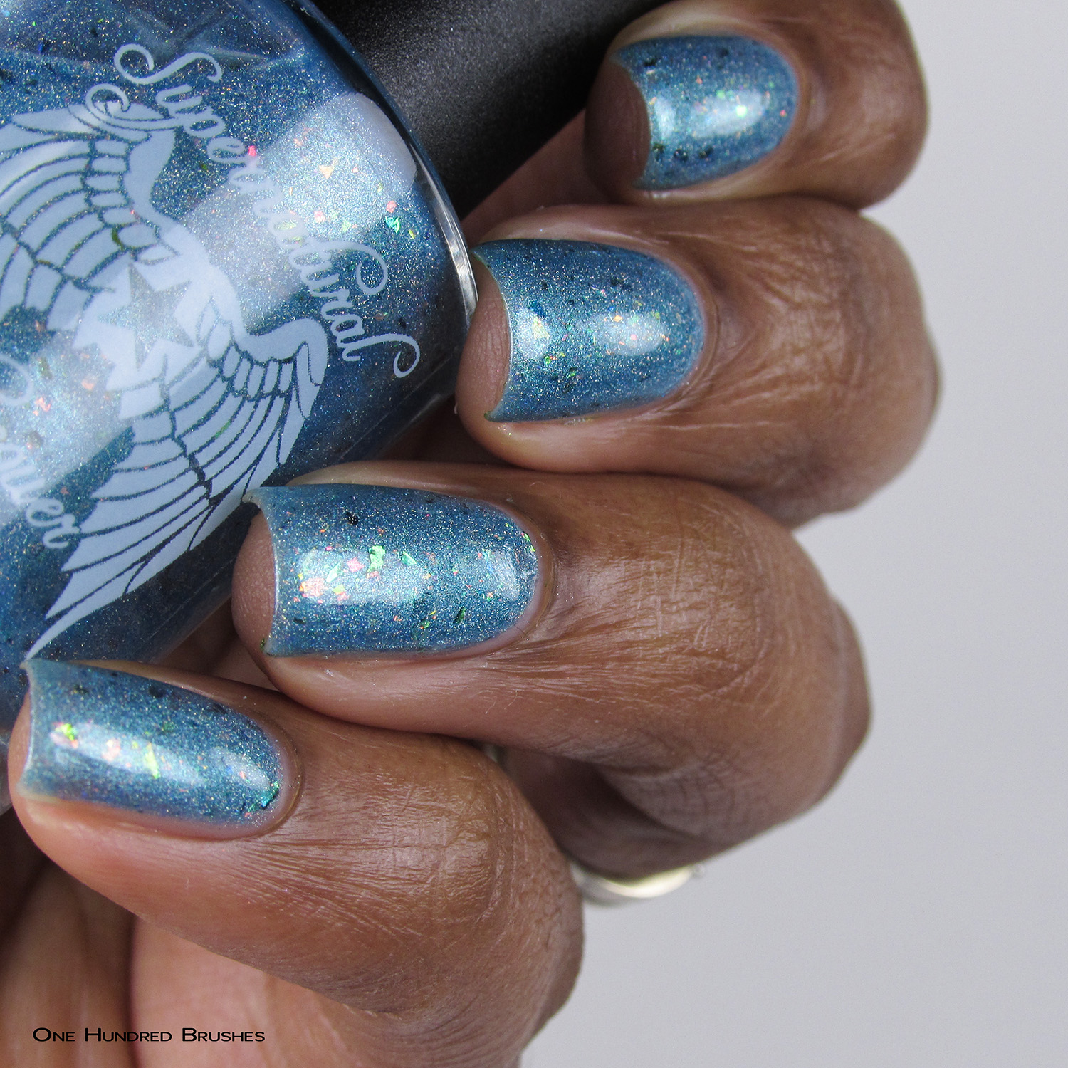 Everything's Shiny Cap'n! - Bottle Side - Supernatural Lacquer - July HHC