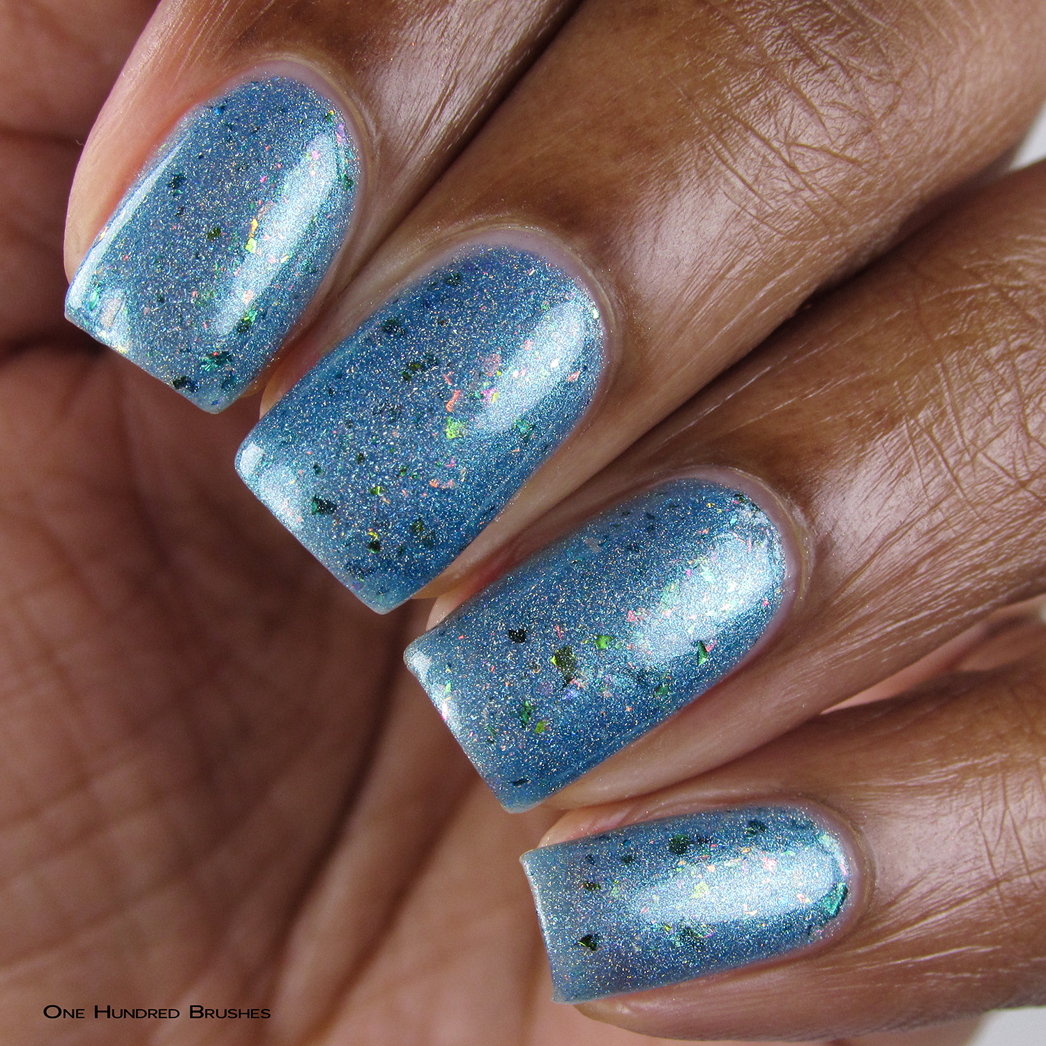 Everything's Shiny Cap'n! - Closeup - Supernatural Lacquer - July HHC