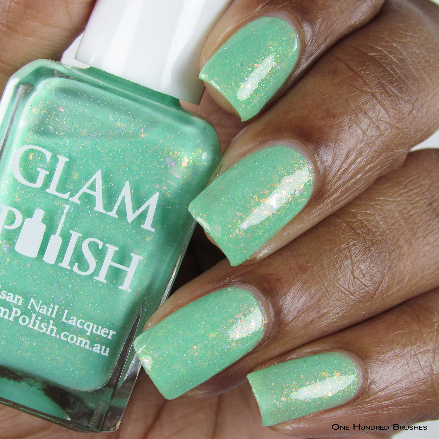 Nauti-Cool - Bottle Front - Mermaid Tails Collection - Glam Polish