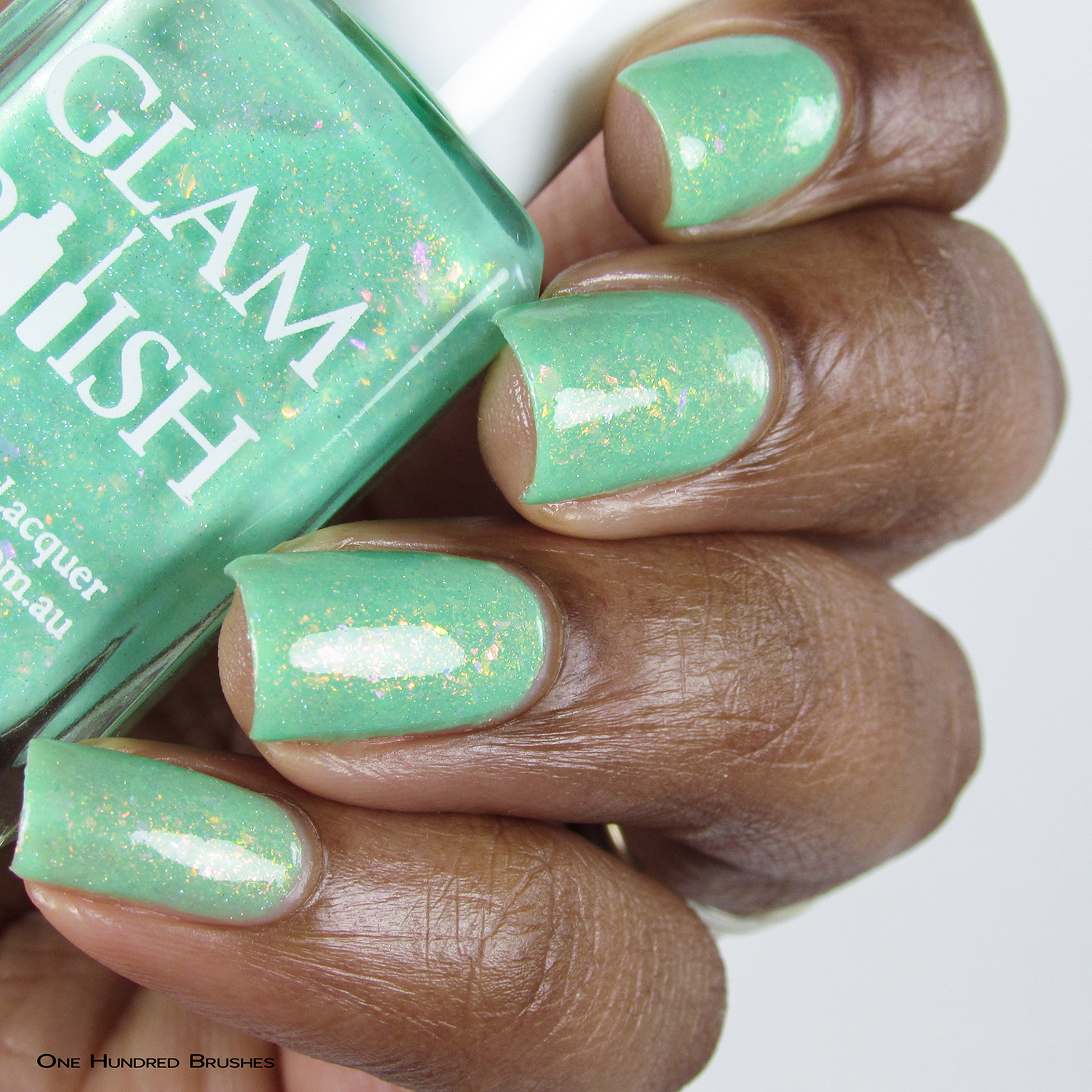 Nauti-Cool - Bottle Side - Mermaid Tails Collection - Glam Polish