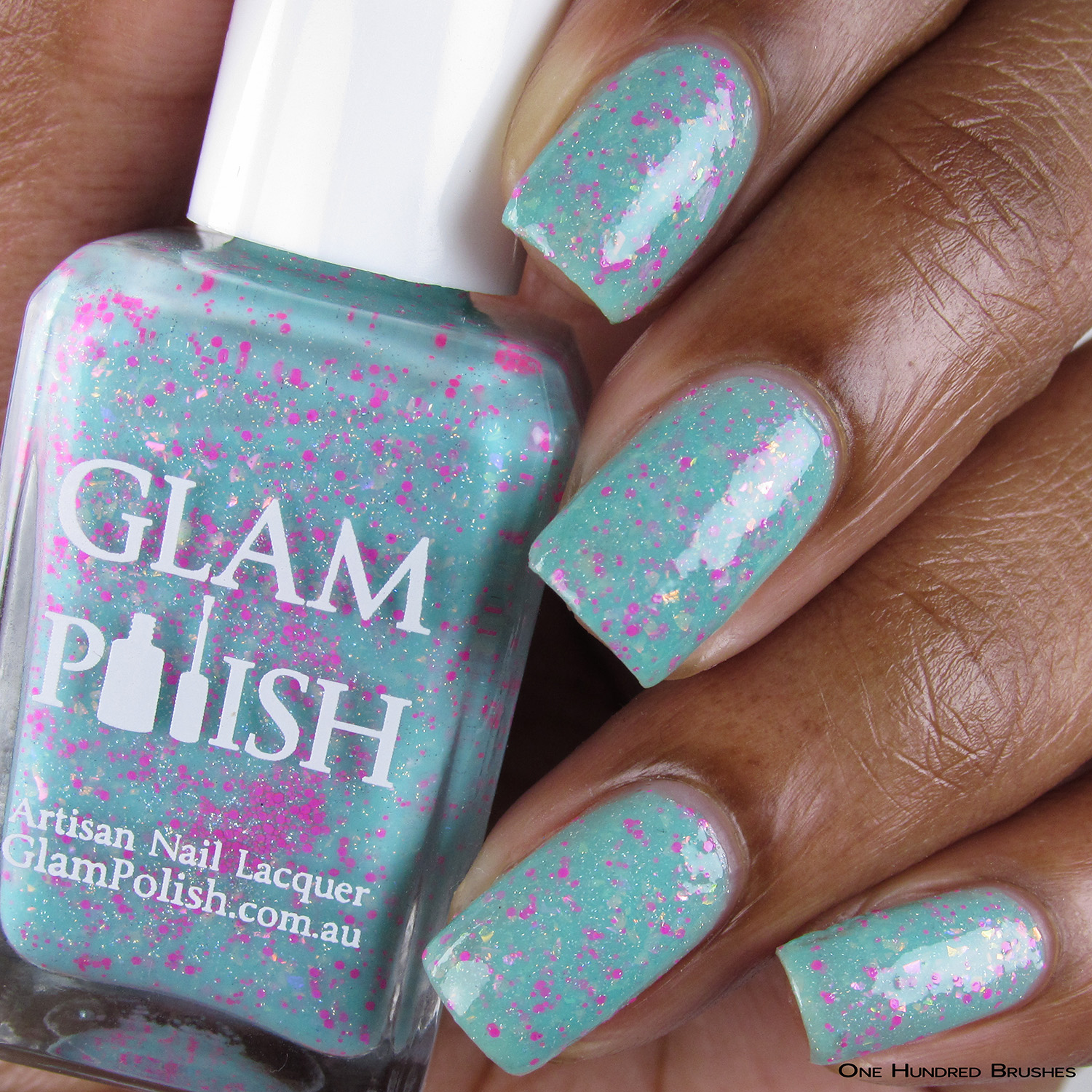 Son Of A Beach - Bottle Front - Mermaid Tails Collection - Glam Polish