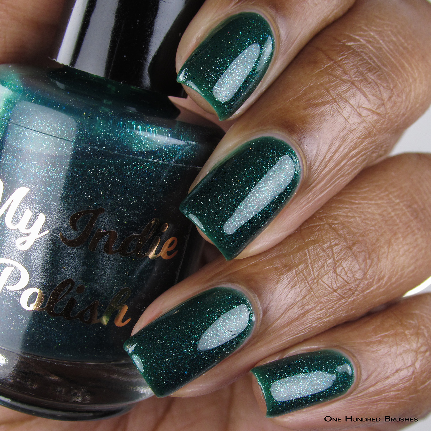 The Gallagher's - Bottle Front - My Indie Polish - July HHC
