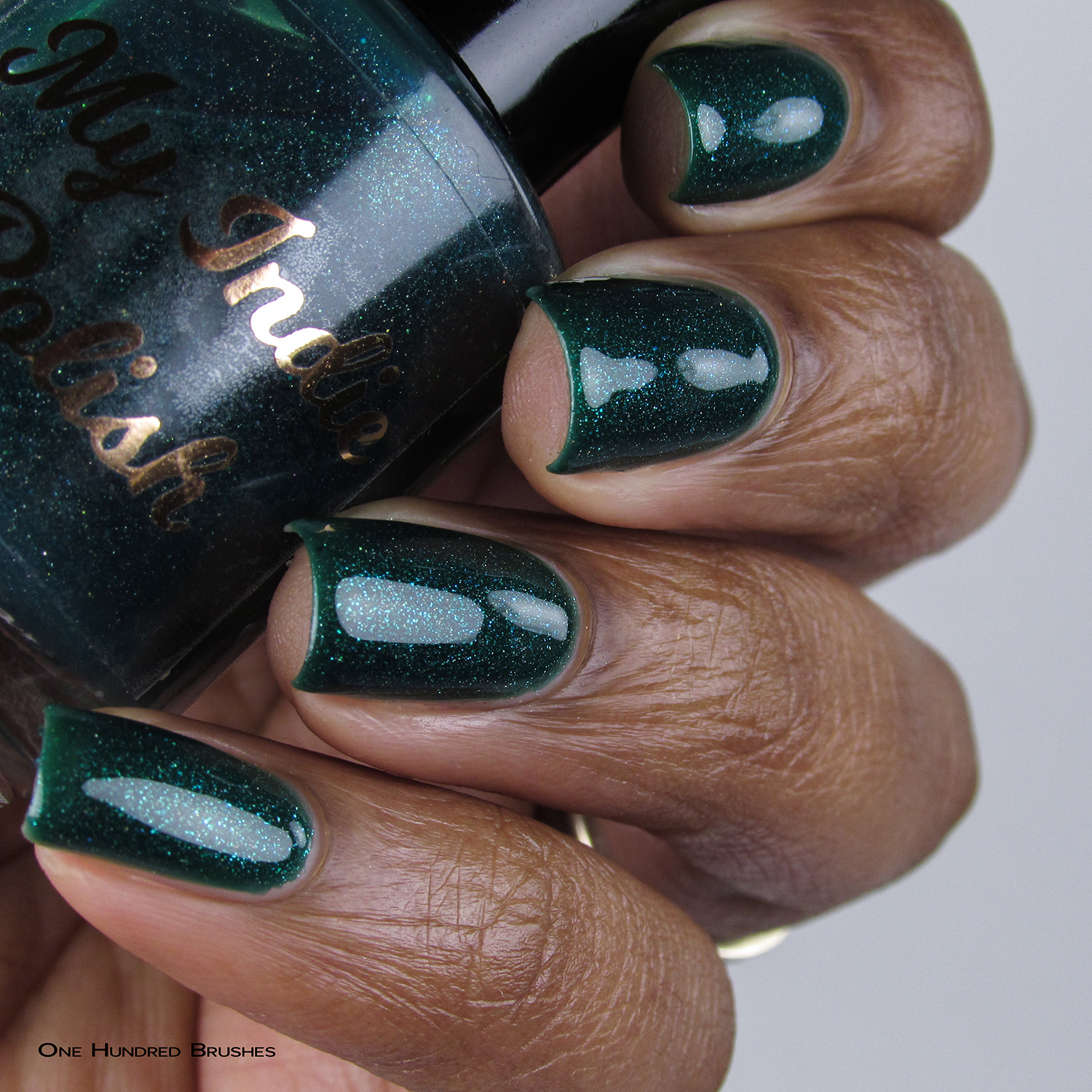The Gallagher's - Bottle Side - My Indie Polish - July HHC