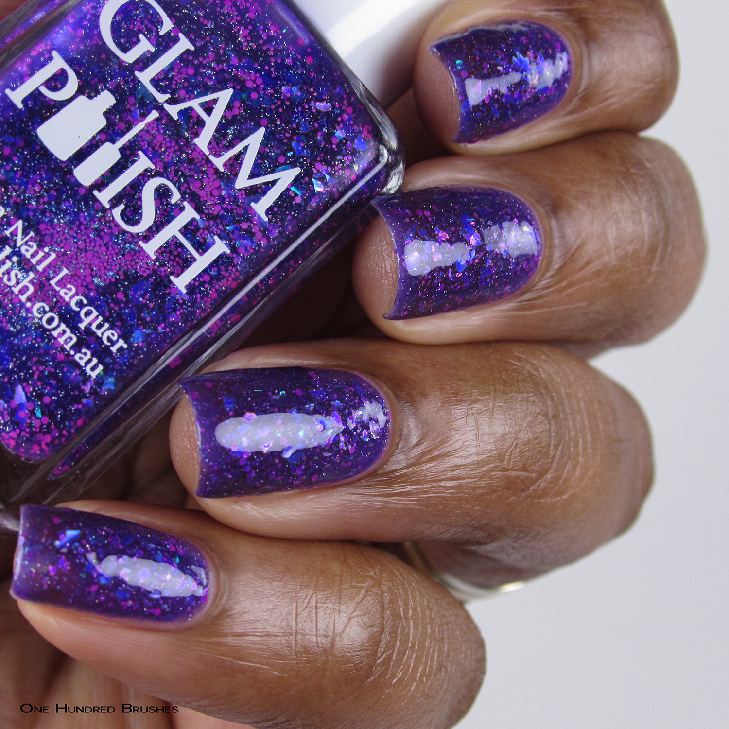 What's Kraken! - Bottle Side - Mermaid Tails Collection - Glam Polish