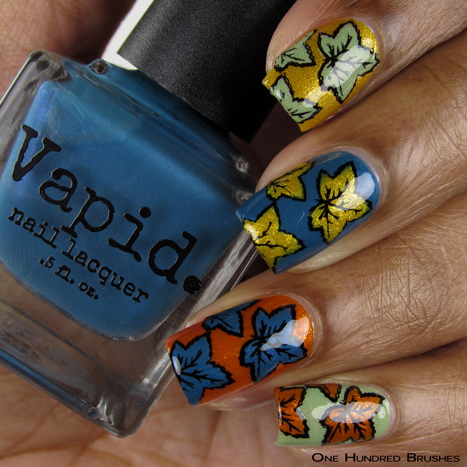 Fall Leaves - Bottle Front - Vapid Lacquer Sep 2018