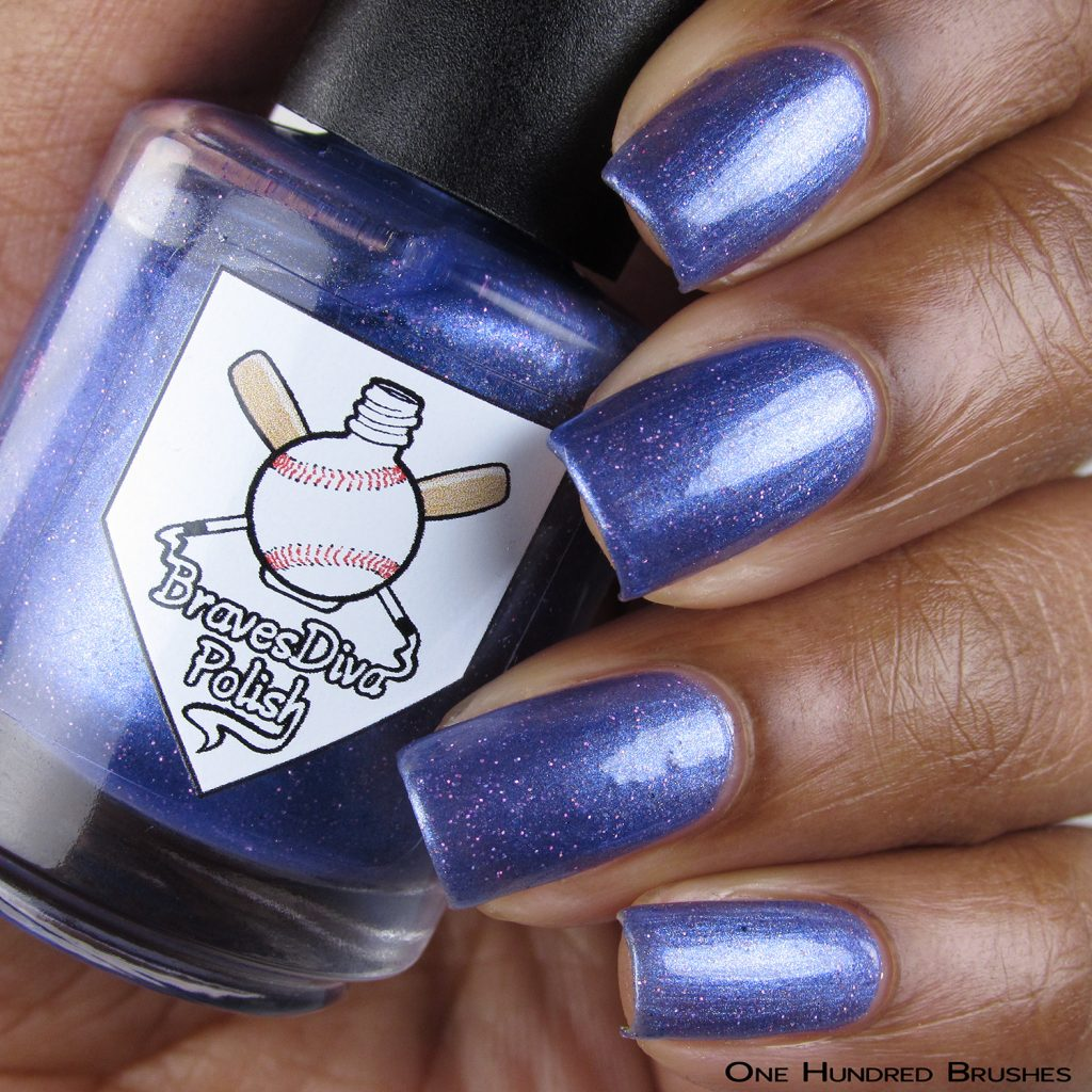 Aryn's Tears - Bottle Front - Braves Diva Polish - The Artists Collection