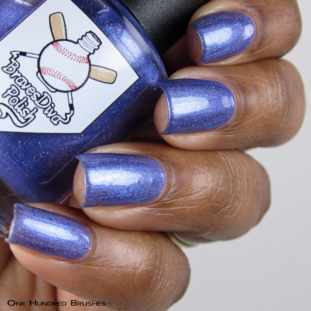 Aryn's Tears - Bottle Side - Braves Diva Polish - The Artists Collection