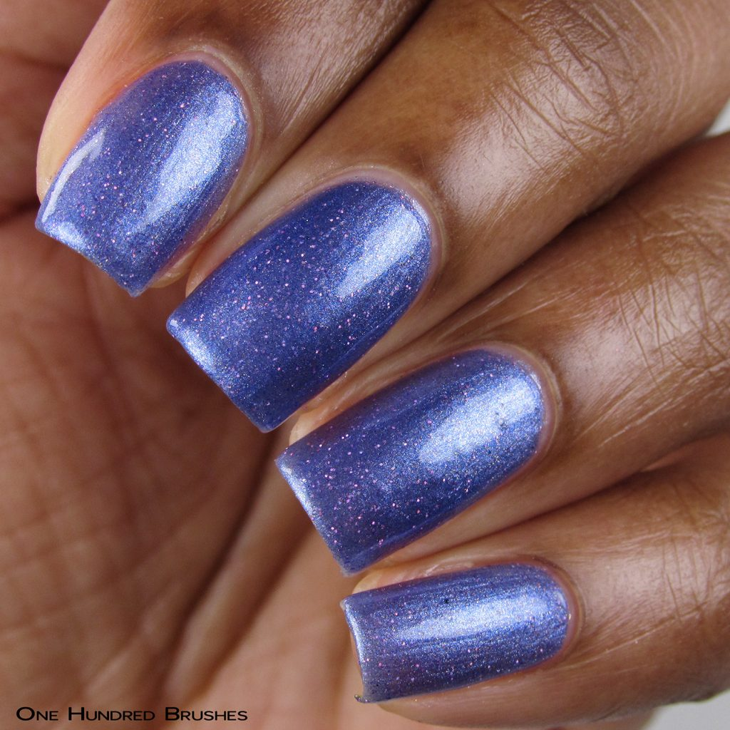 Aryn's Tears - Closeup - Braves Diva Polish - The Artists Collection